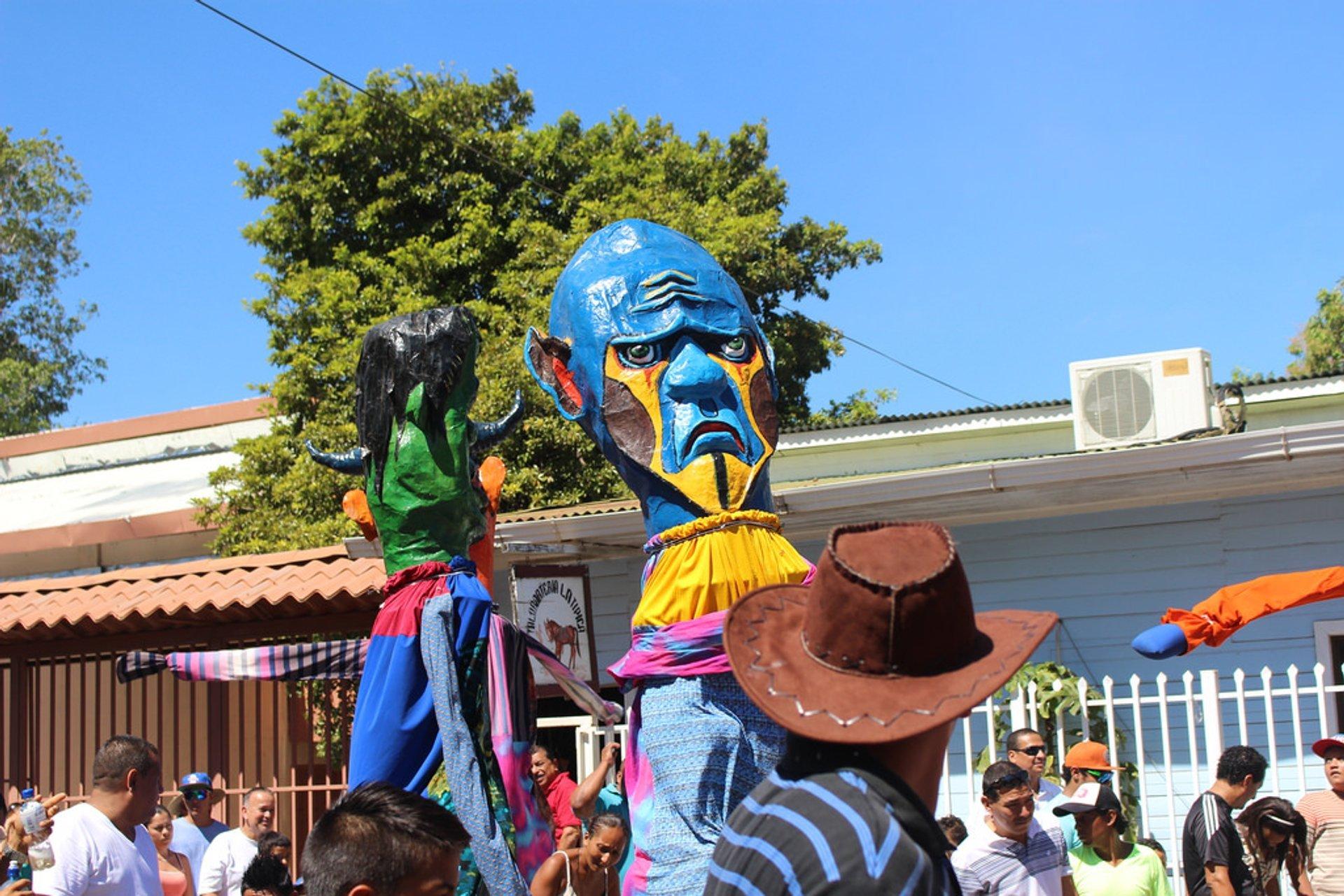 Best time for Fiestas Típicas Nacionales Santa Cruz in Costa Rica 2020