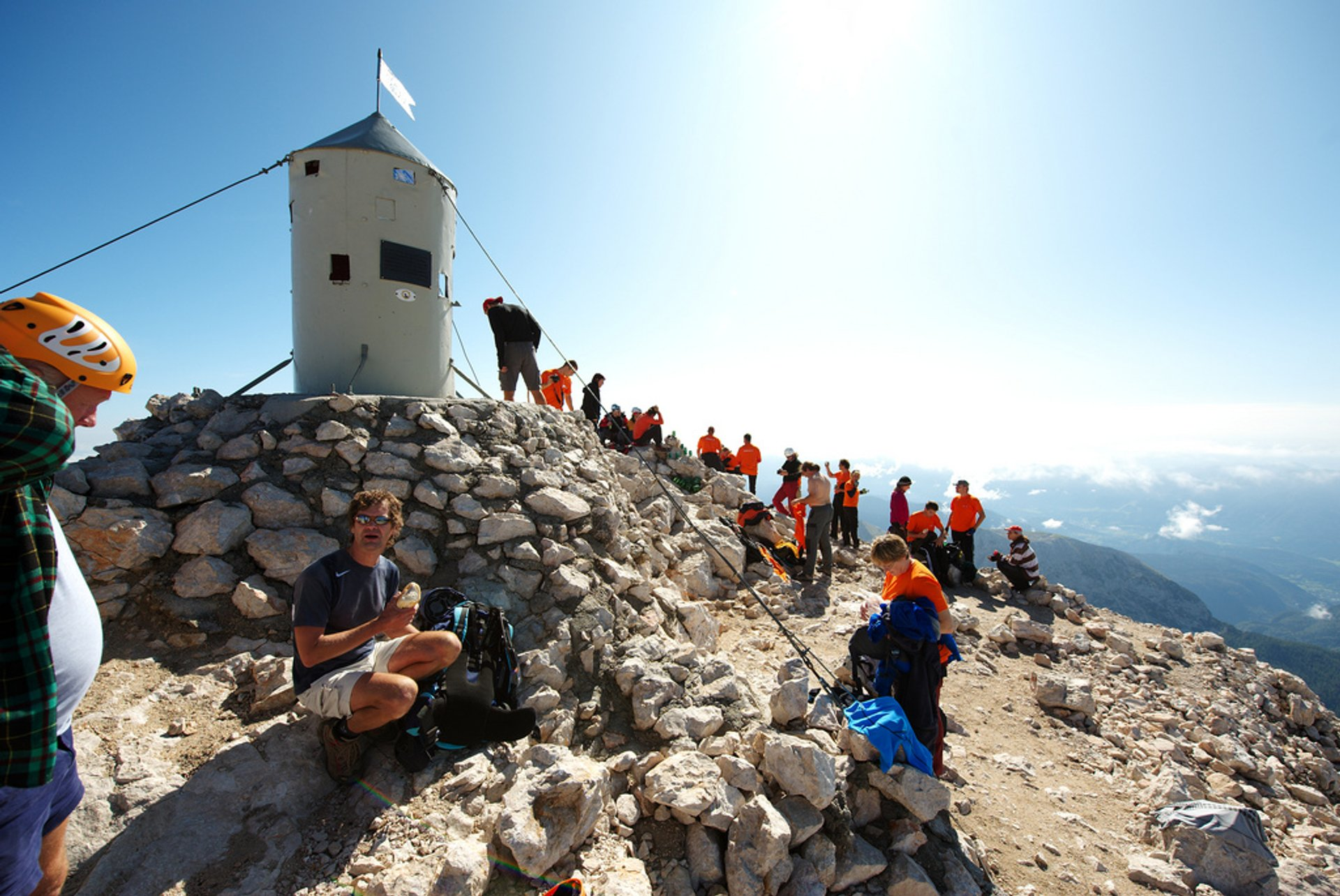 Best time for Climbing Triglav in Slovenia