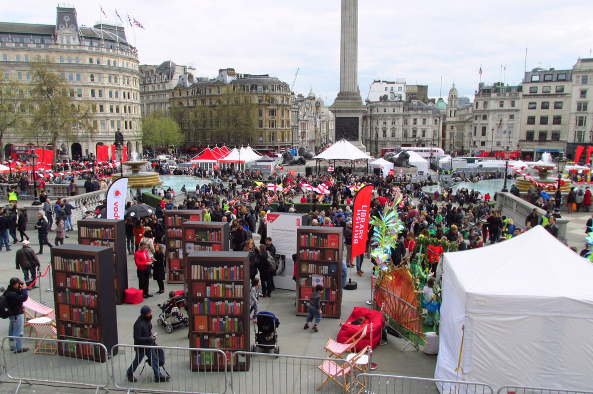 Feast of St George in Trafalgar Square in London 2020 - Best Time