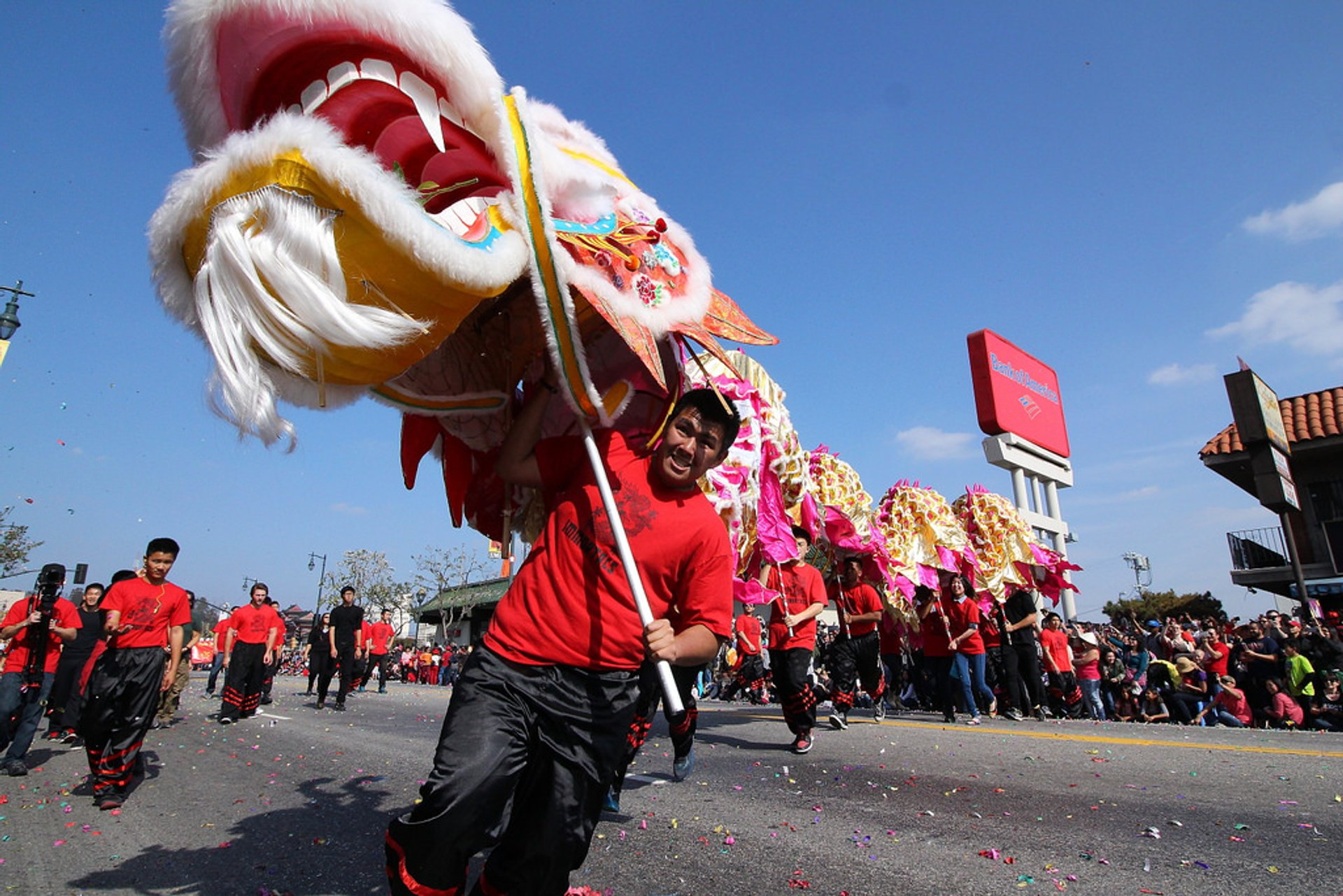 Golden Dragon Parade in Chinatown Los Angeles 2019