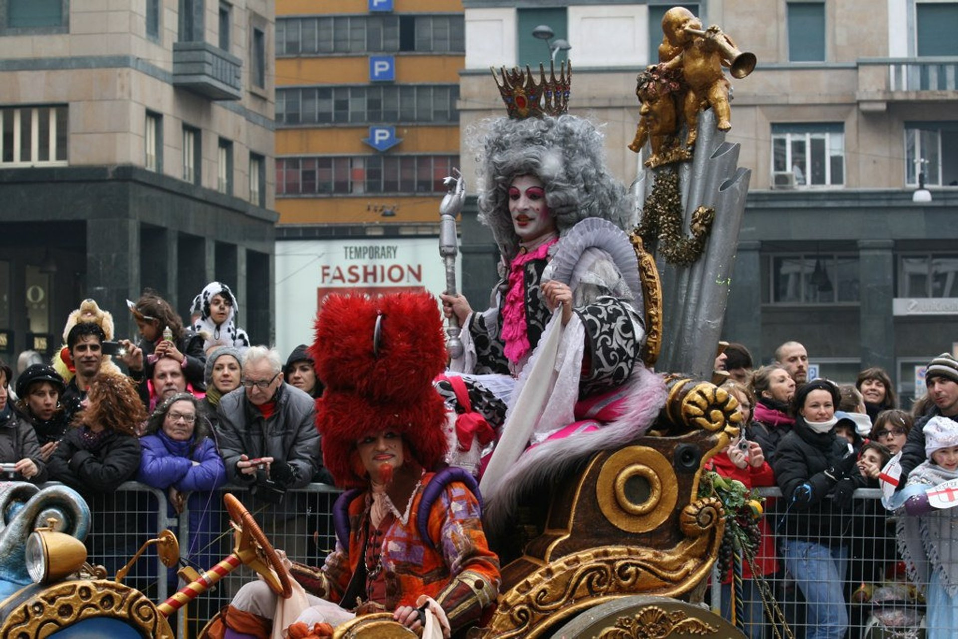 Best time for Ambrosian Carnival in Milan 2020