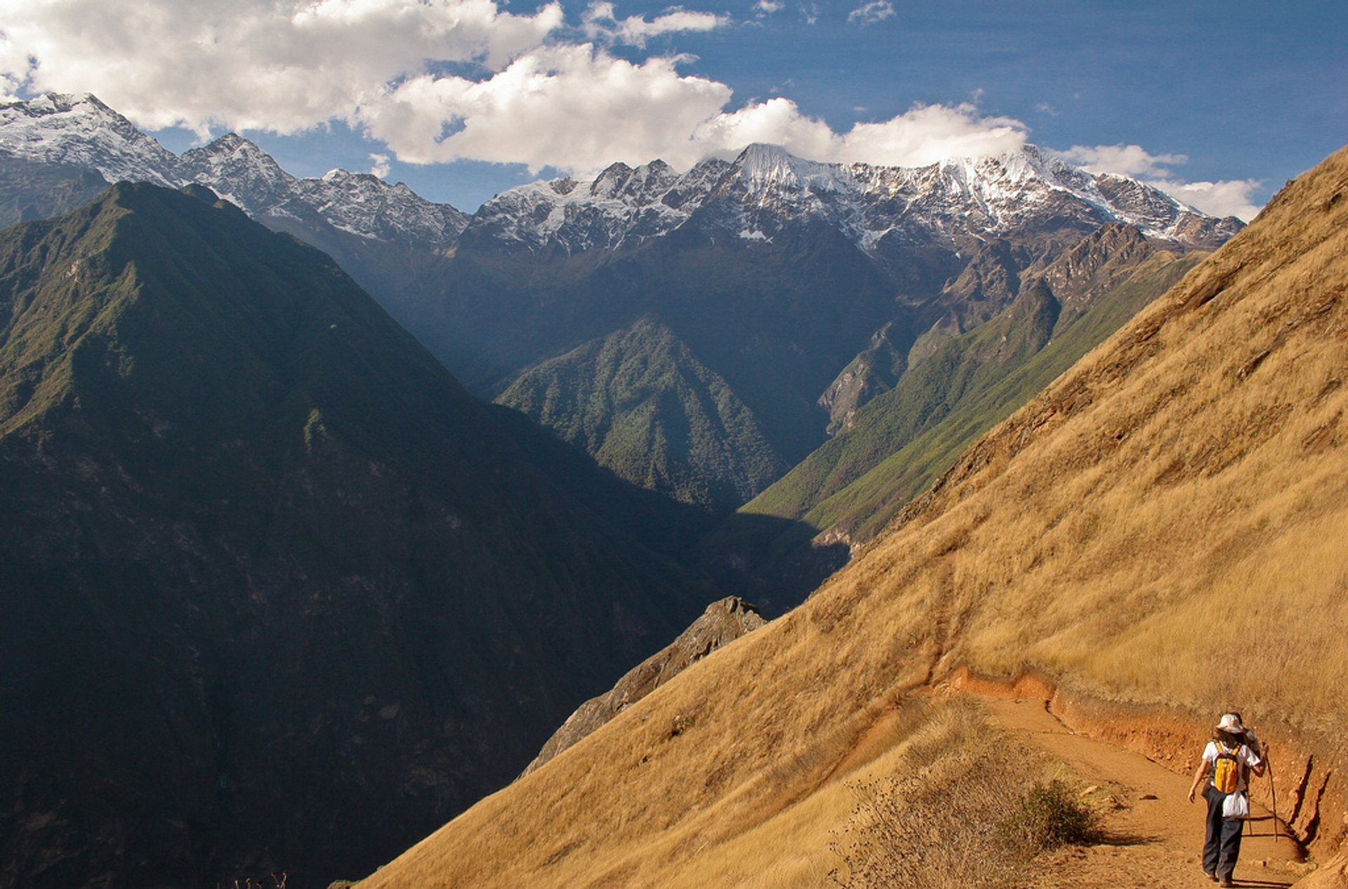 Choquequirao in Peru - Best Season 2020