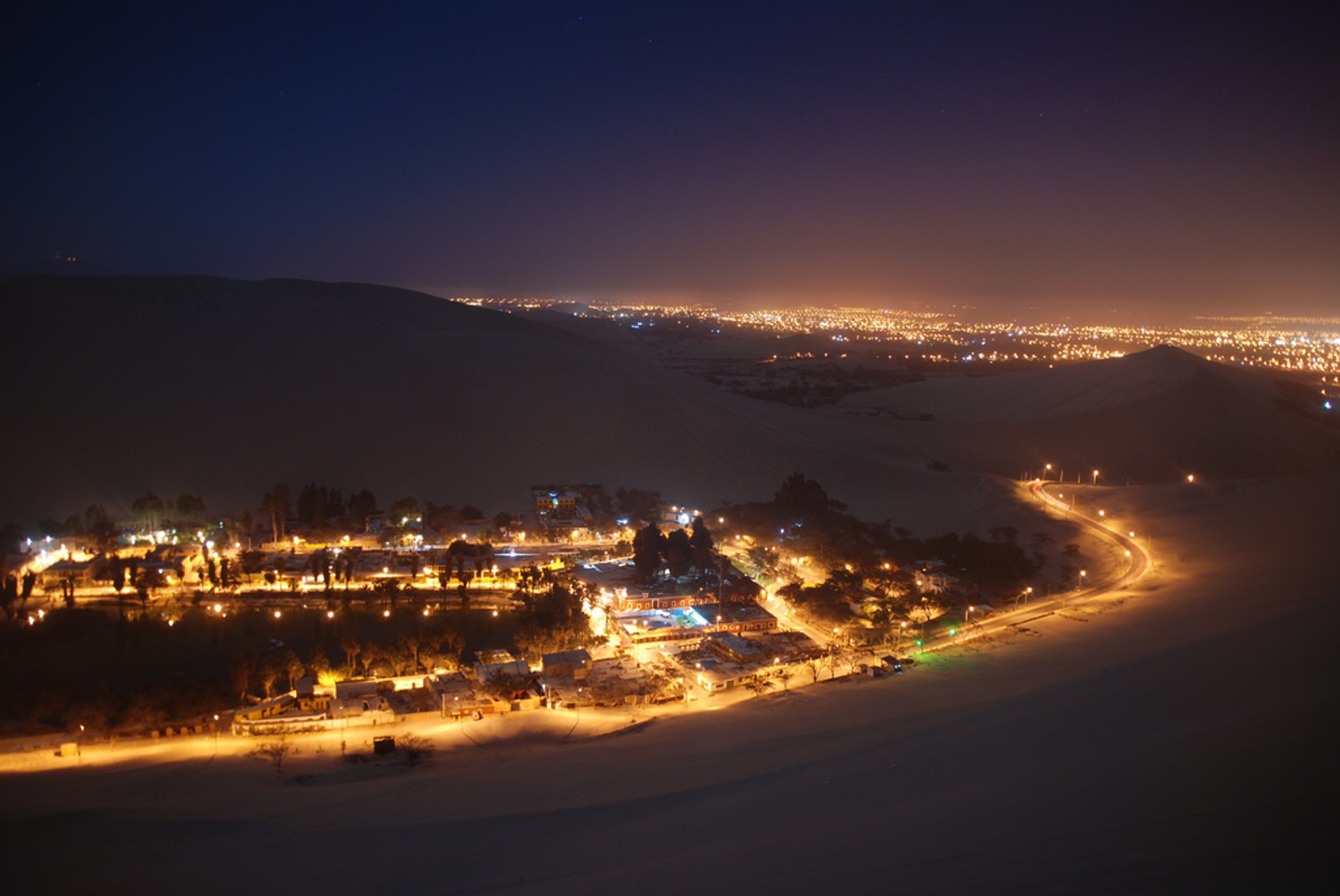Best time for Huacachina Oasis in Peru 2020