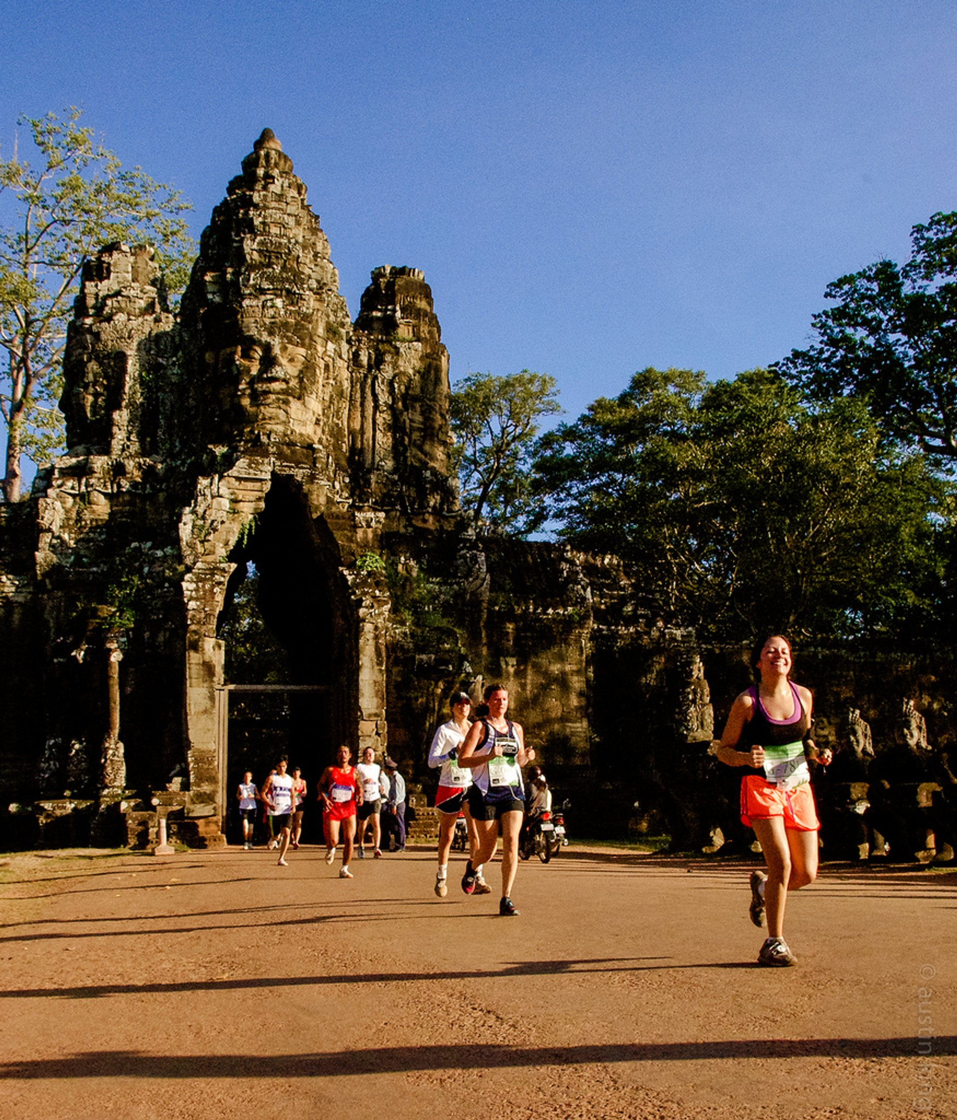 Angkor Wat International Half Marathon in Cambodia 2020 - Best Time