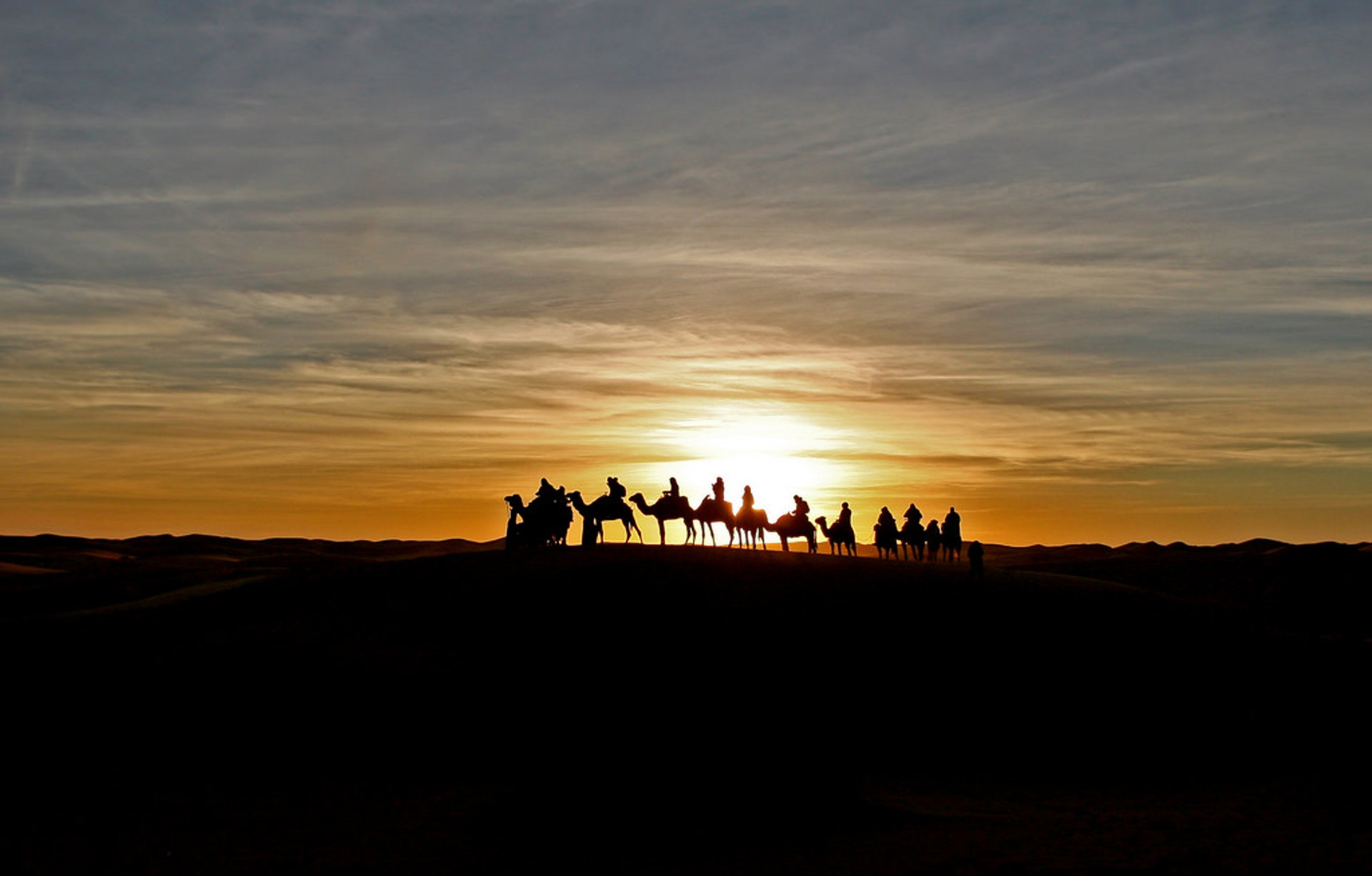 Sunrise and Sunset in Morocco 2019 - Best Time