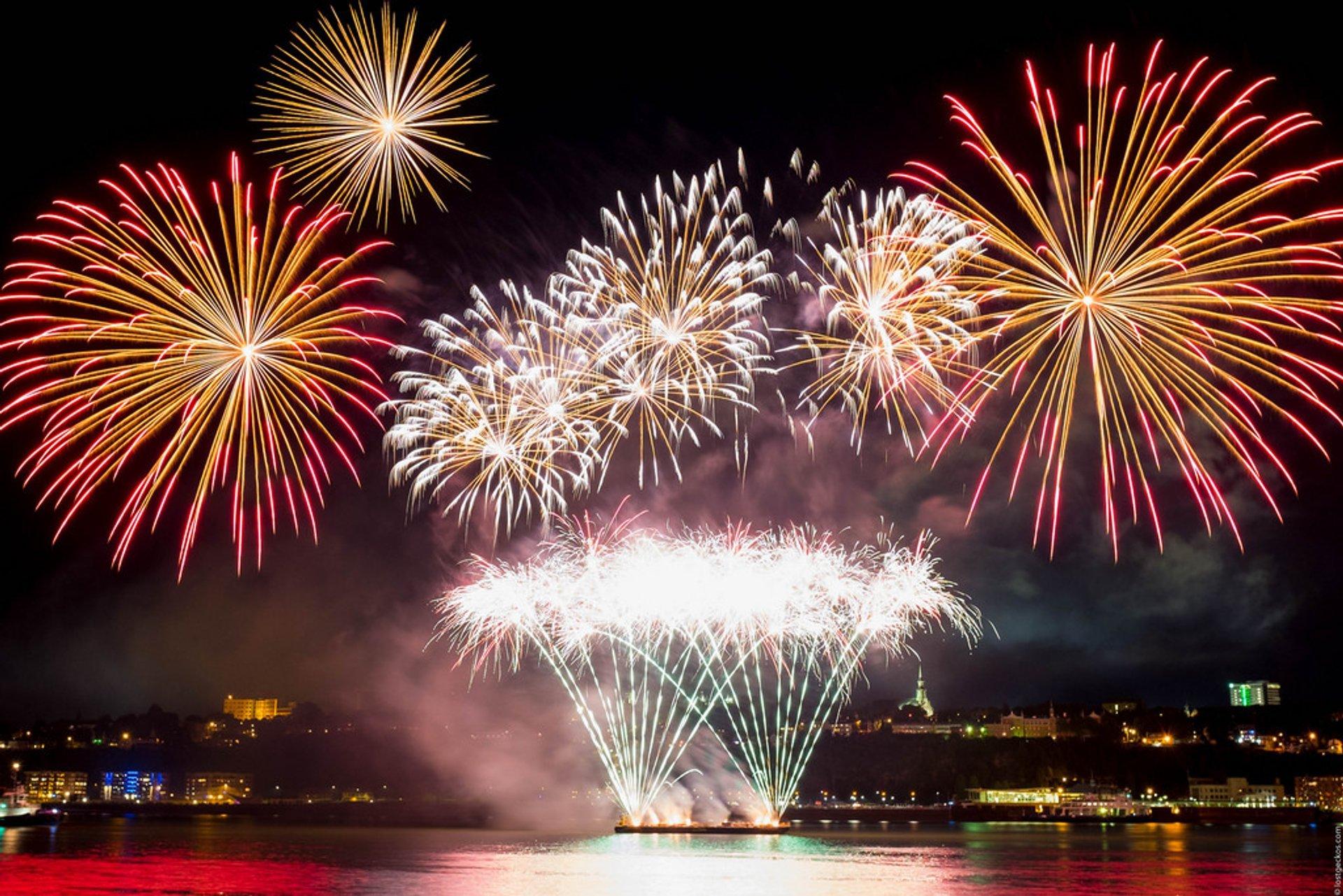 Les Grands Feux Loto-Québec (Fireworks Festival) in Quebec 2020 - Best Time