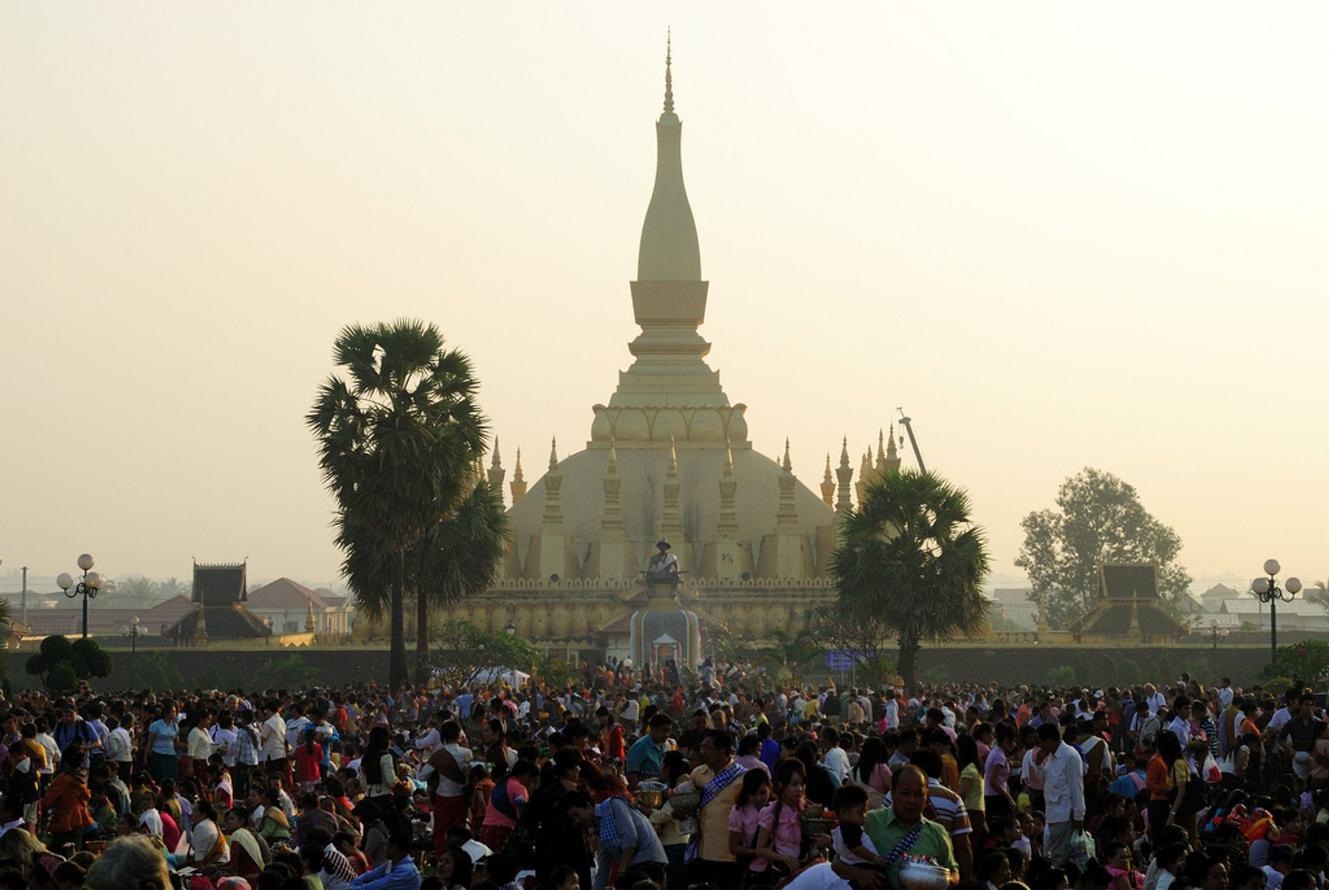 Boun That Luang Festival in Laos - Best Season 2019