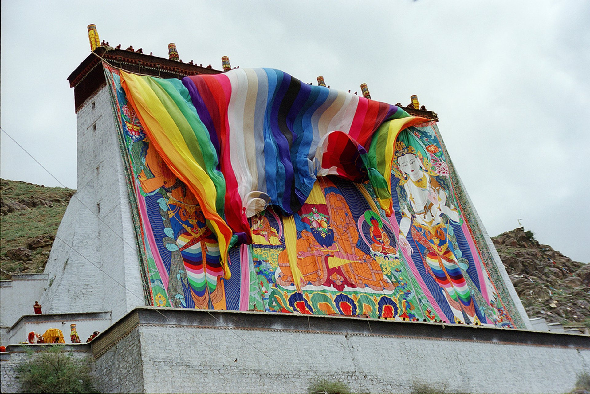 Removing of Thangka