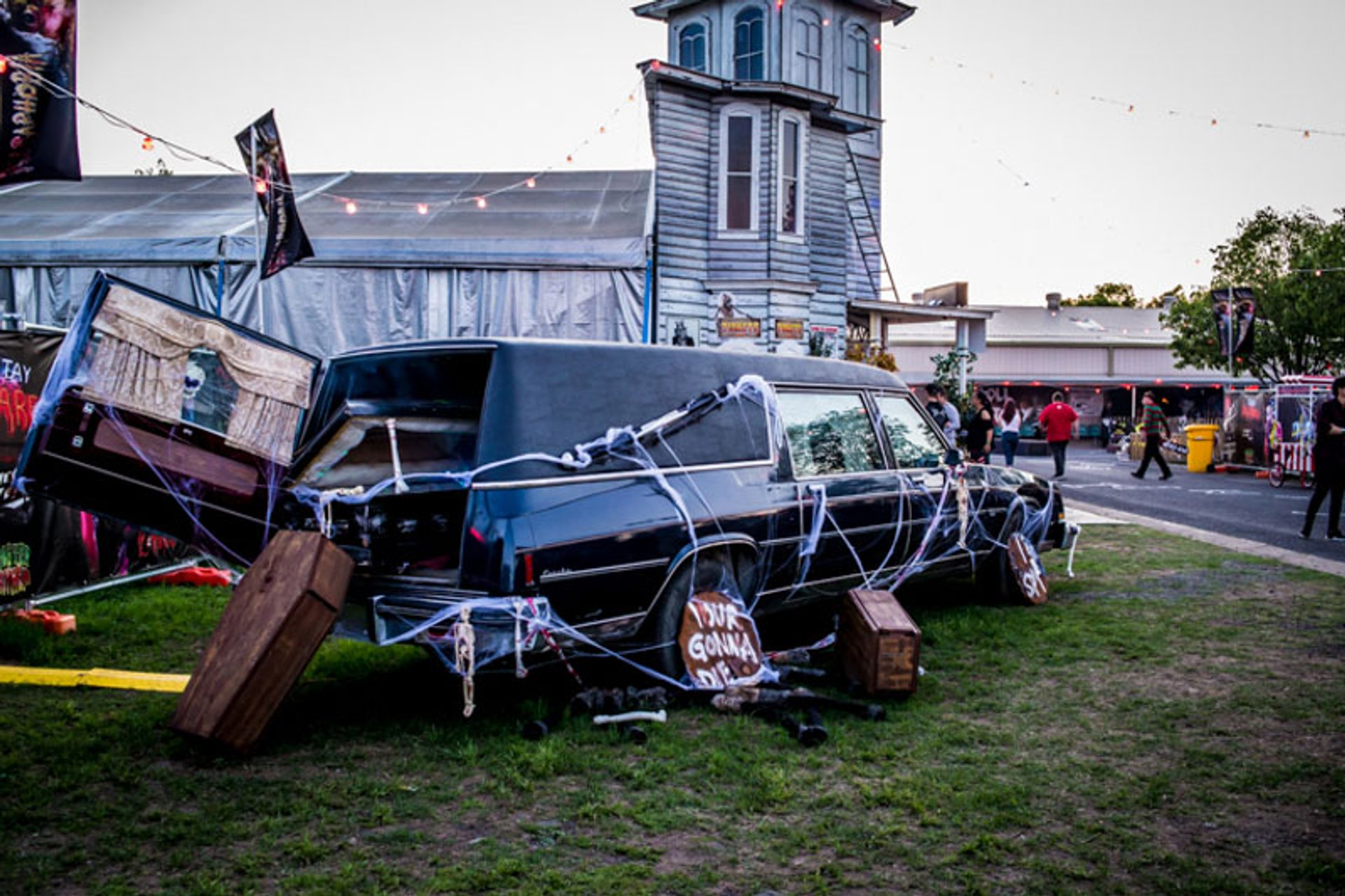 Hearse at the Fearaphobia 2020