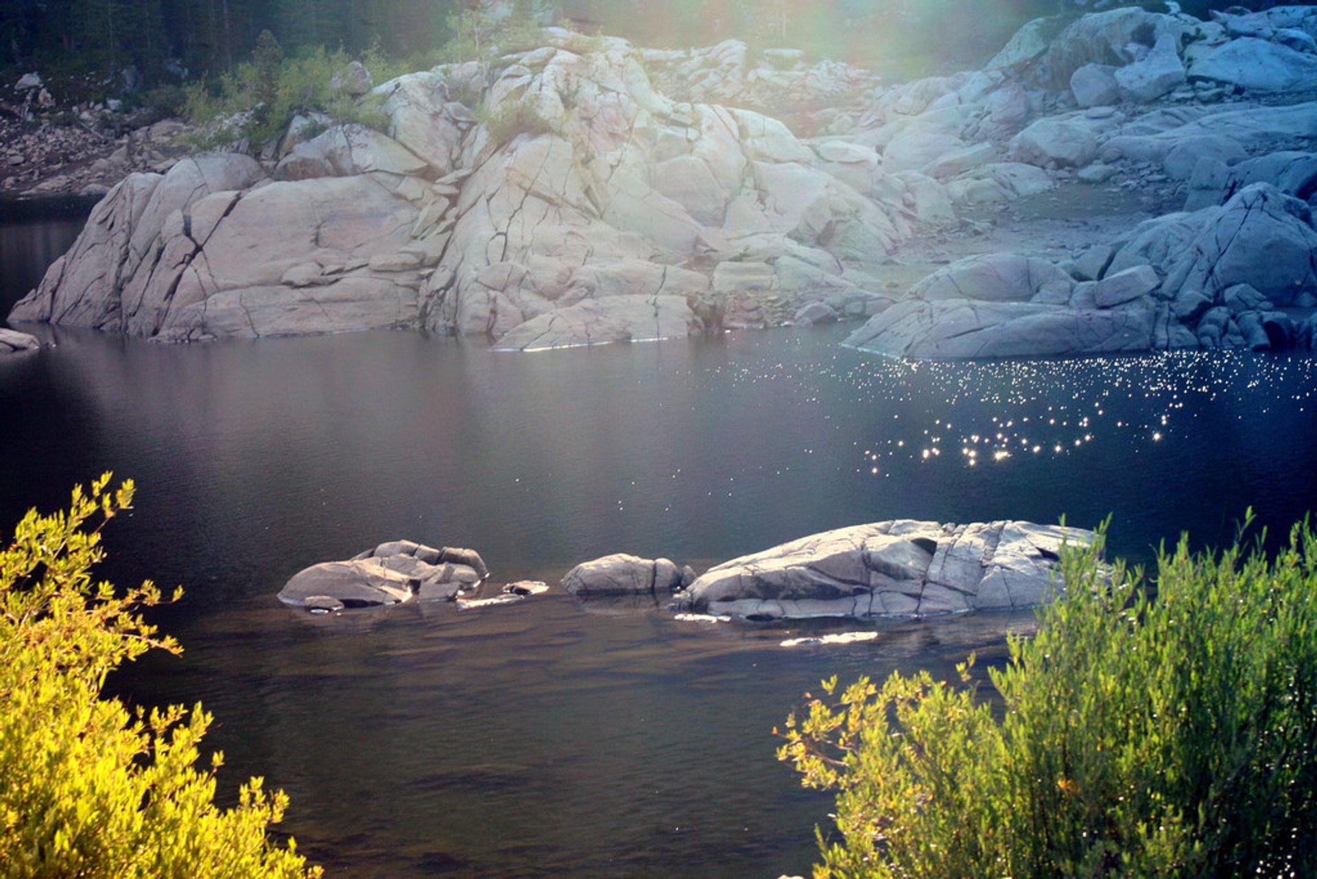 Brighton Lakes Trail in Utah - Best Time
