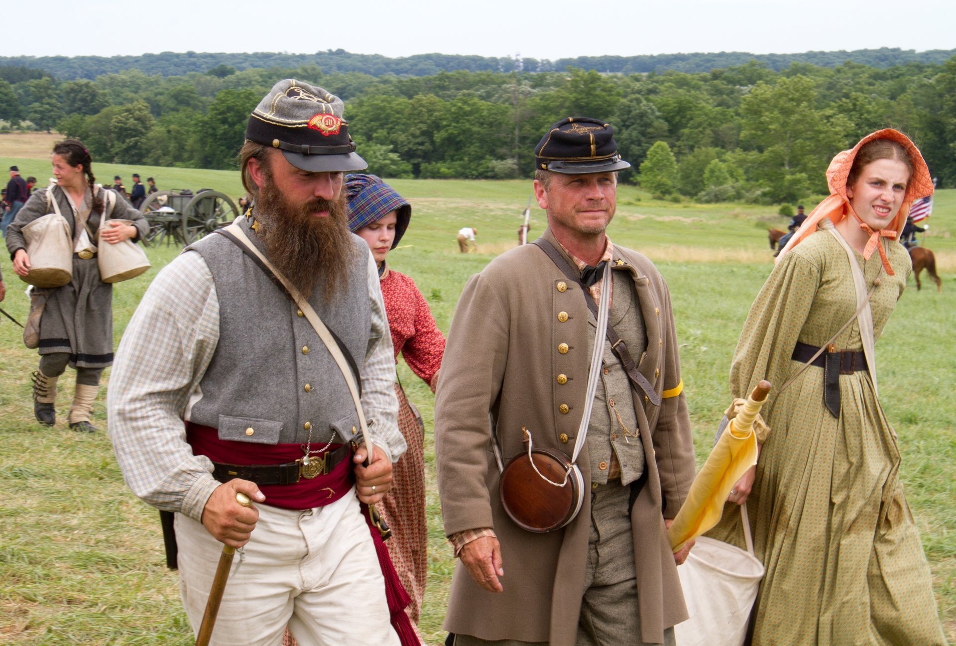 Gettysburg Civil War Battle Reenactment in Pennsylvania - Best Season 2020