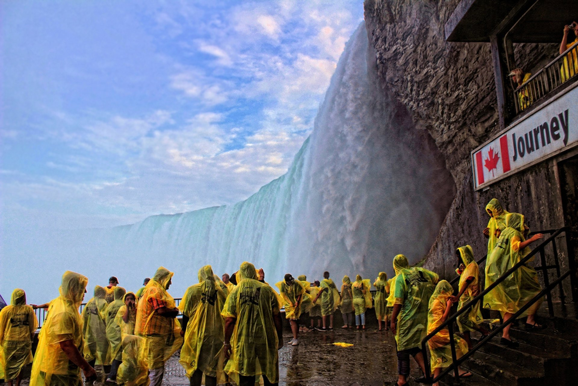 Journey Behind the Falls in Niagara Falls 2019 - Best Time