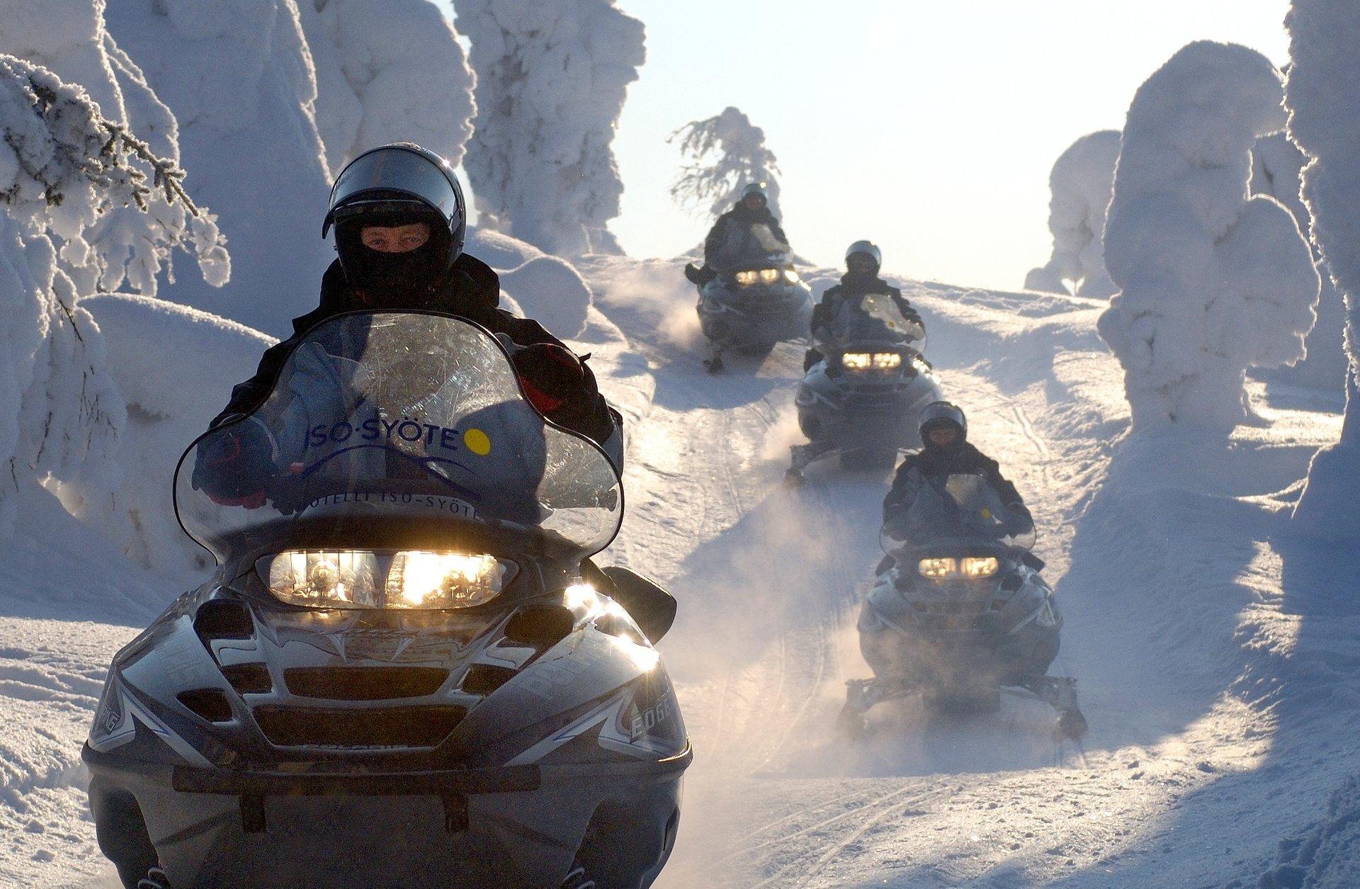Snowmobiling in Finland - Best Season 2020