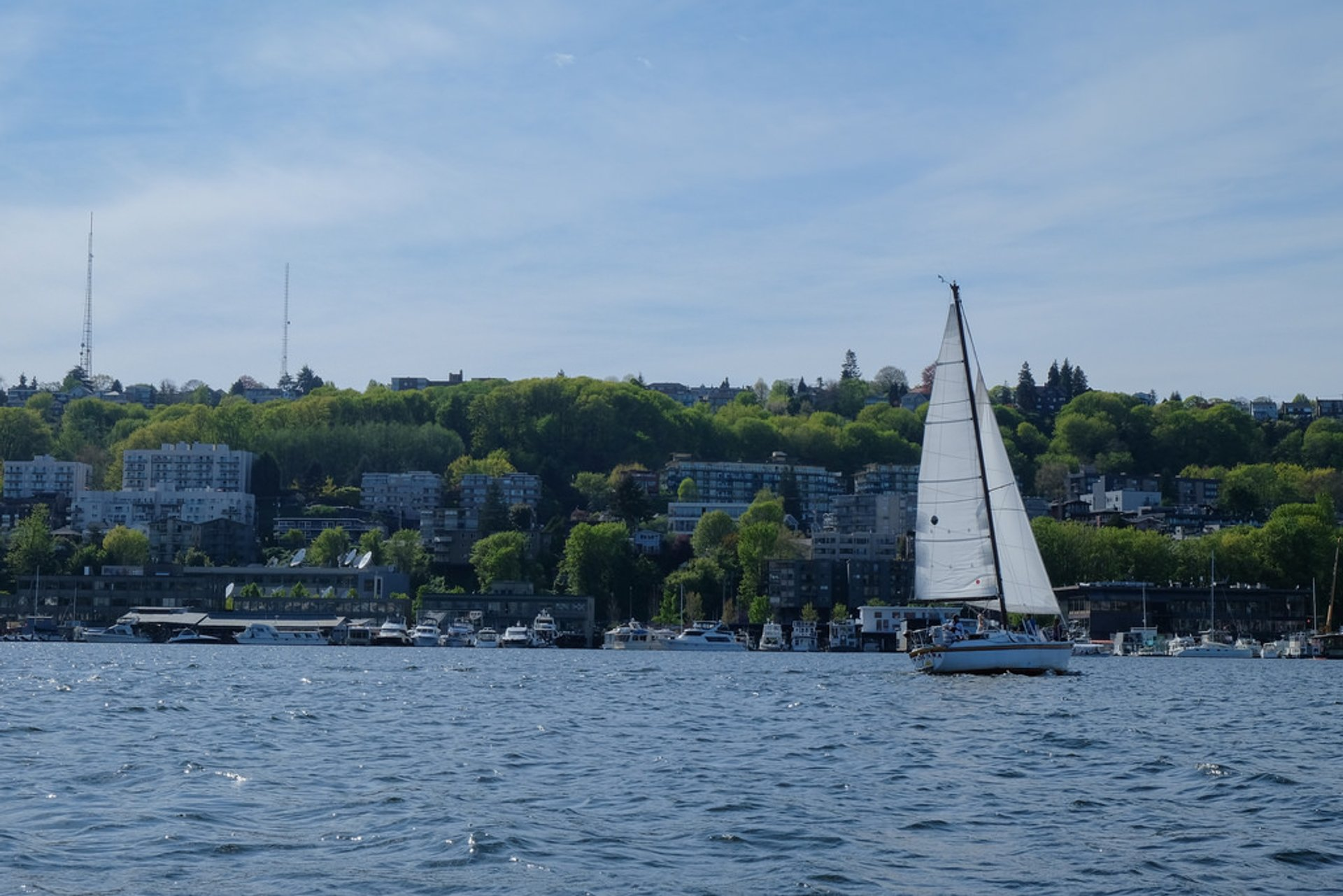 Seattle Boat Tour at the Union Lake 2019