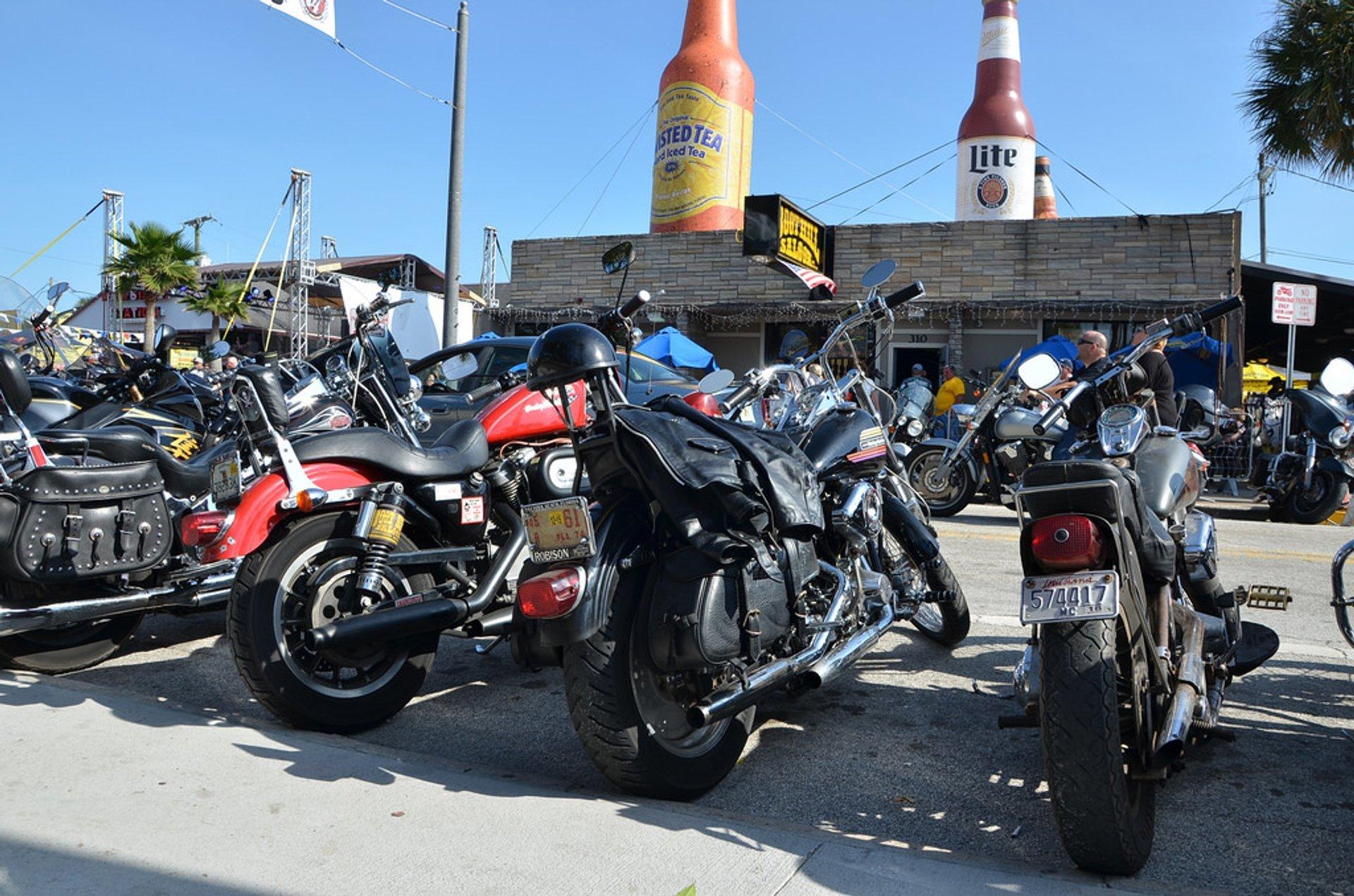 Best time for Daytona Beach Bike Week in Florida 2019