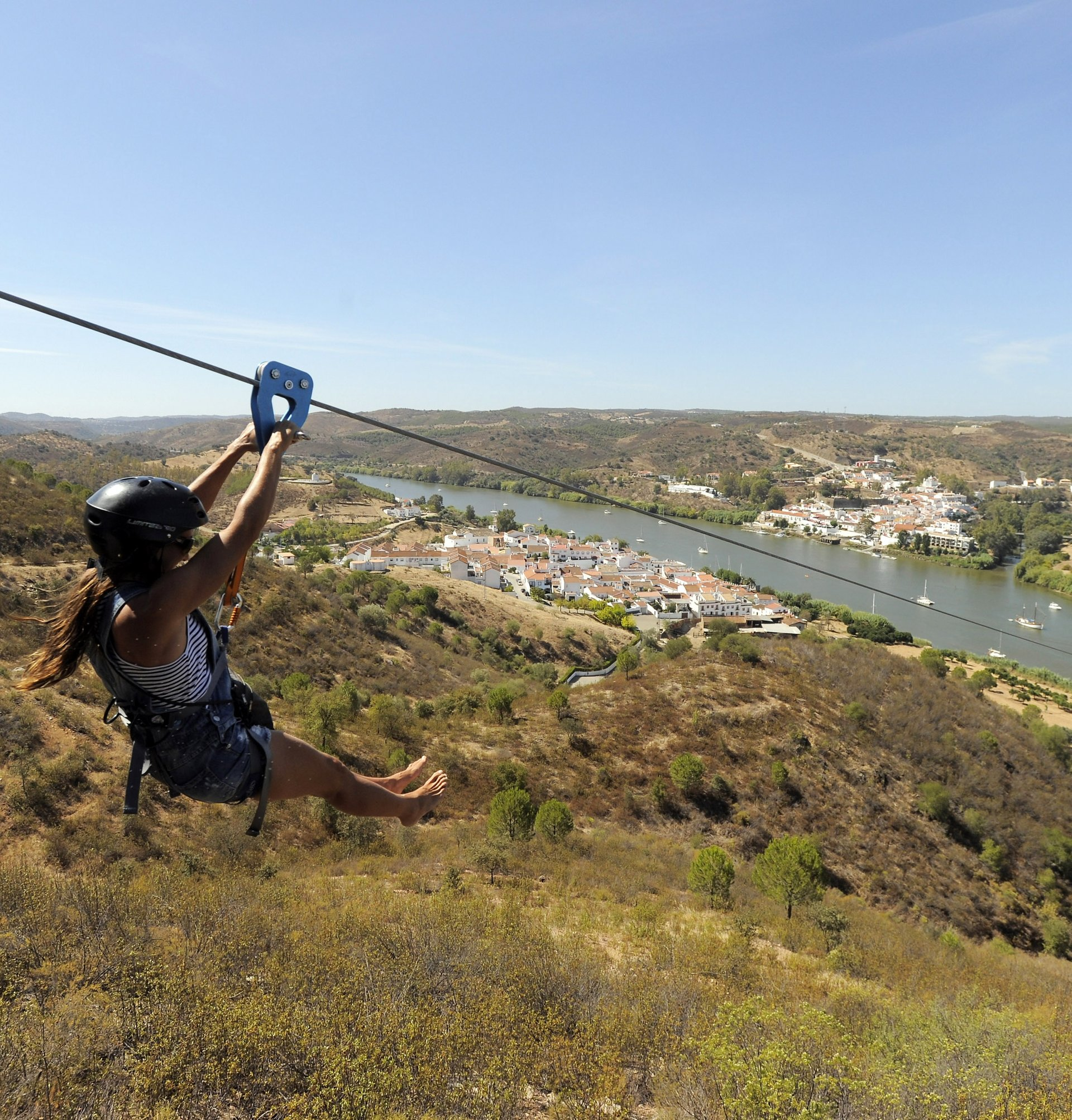 Best time for Spain to Portugal Zip Line (Limite Zero) 2020