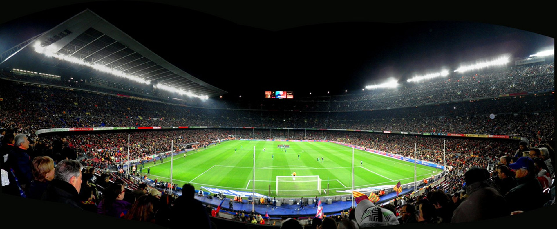FC Barcelona and Camp Nou in Barcelona - Best Season 2020