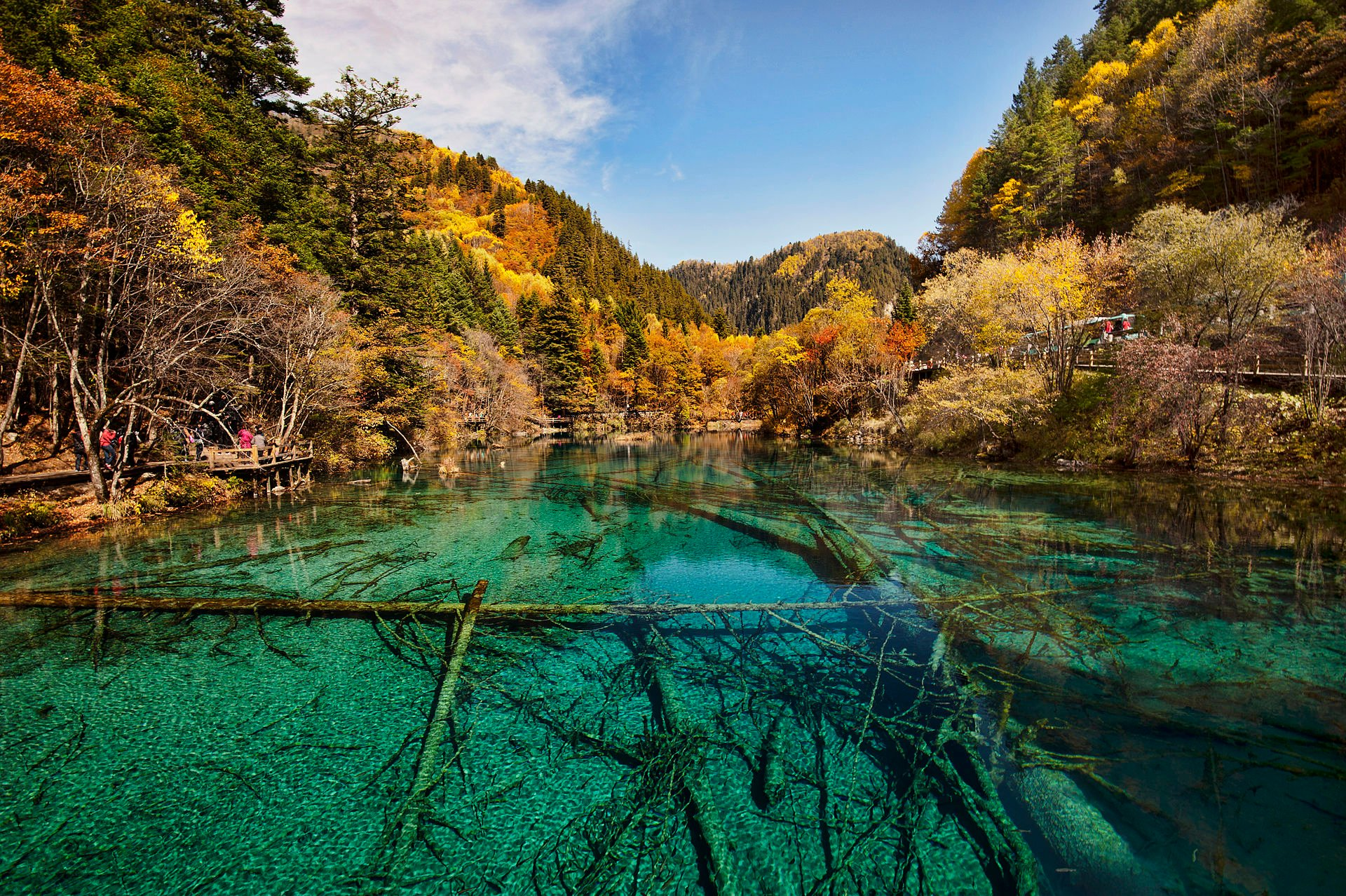 Jiuzhaigou Valley National Park in China - Best Season 2019