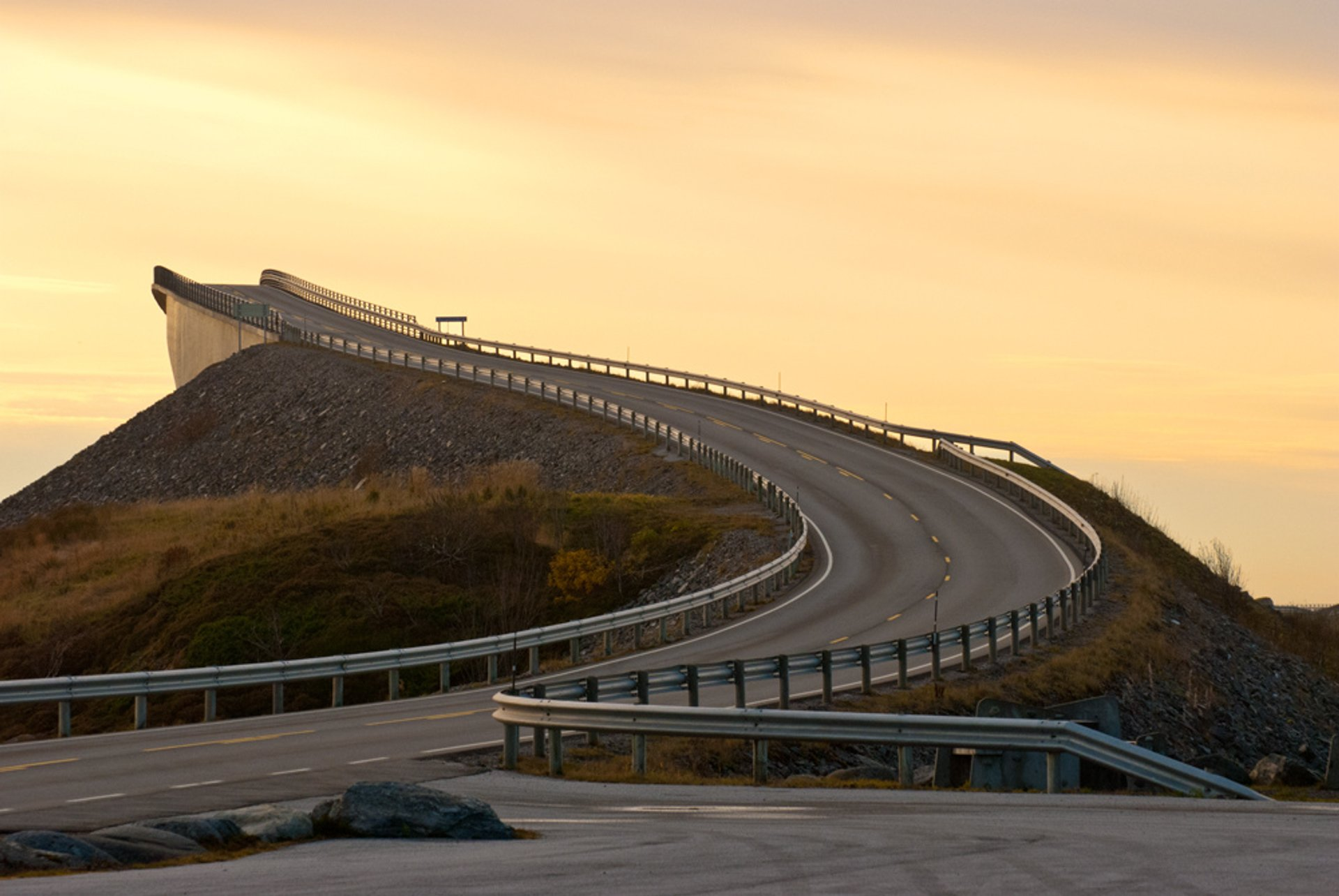 Best time for The Atlantic Ocean Road in Norway