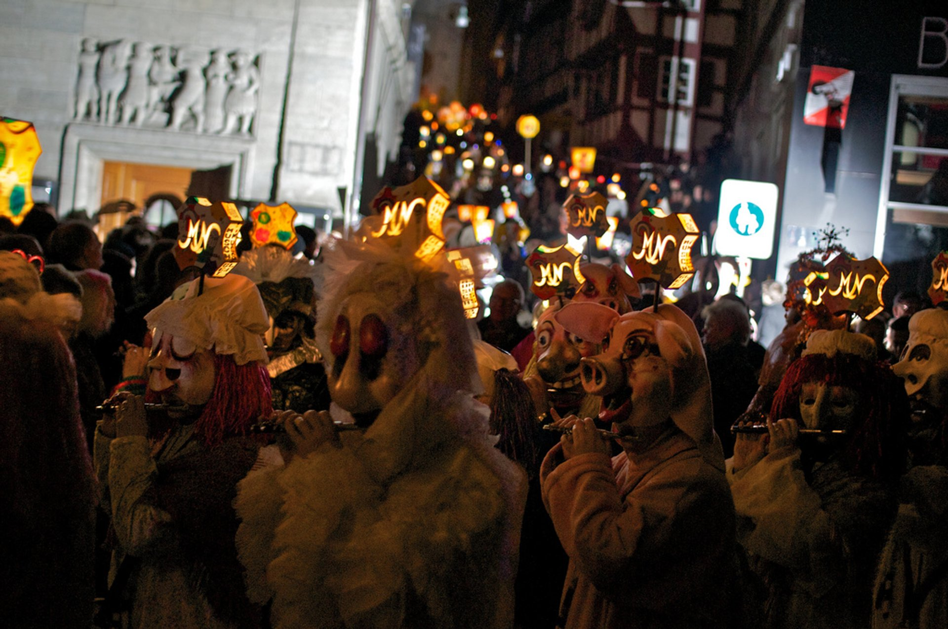 Best time to see Basel Fasnacht in Switzerland 2019