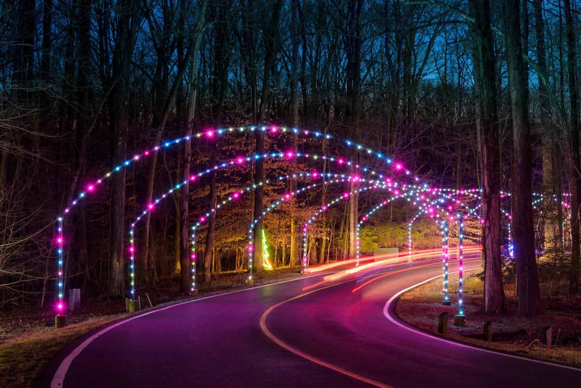 Winter Festival of Lights at Watkins Park  in Maryland - Best Season 2020
