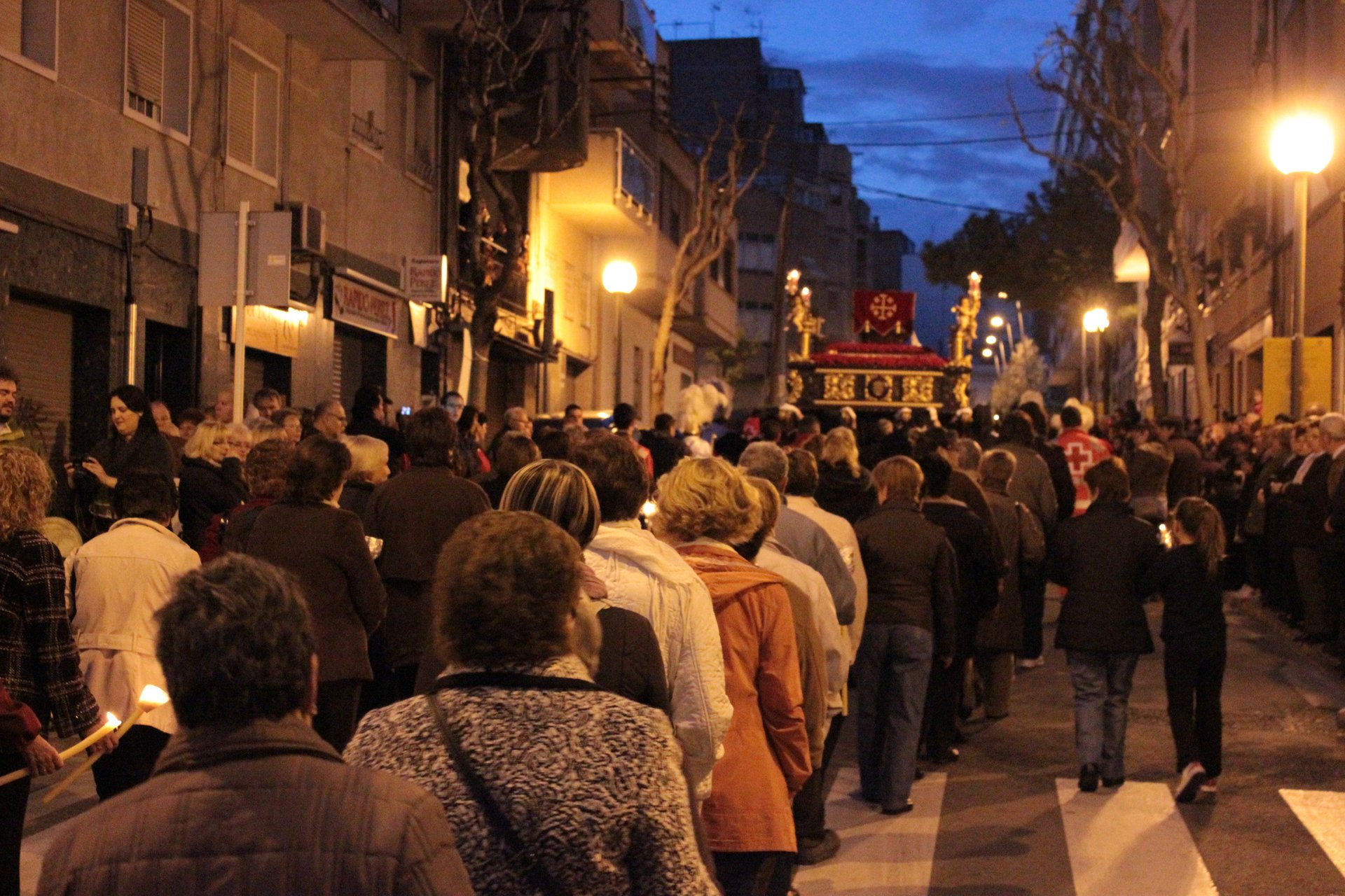Holy Saturday procession in L'Hospitalet de Llobregat 2020