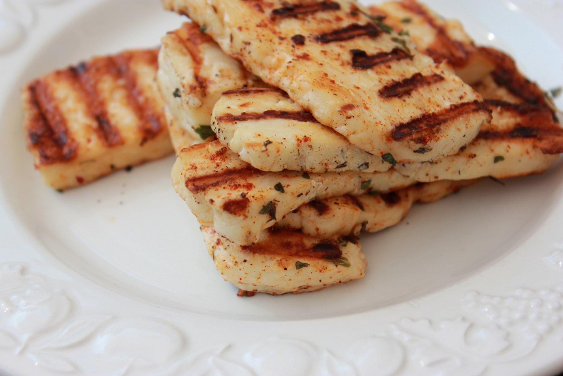 Fresh Halloumi Cheese in Cyprus - Best Season 2019