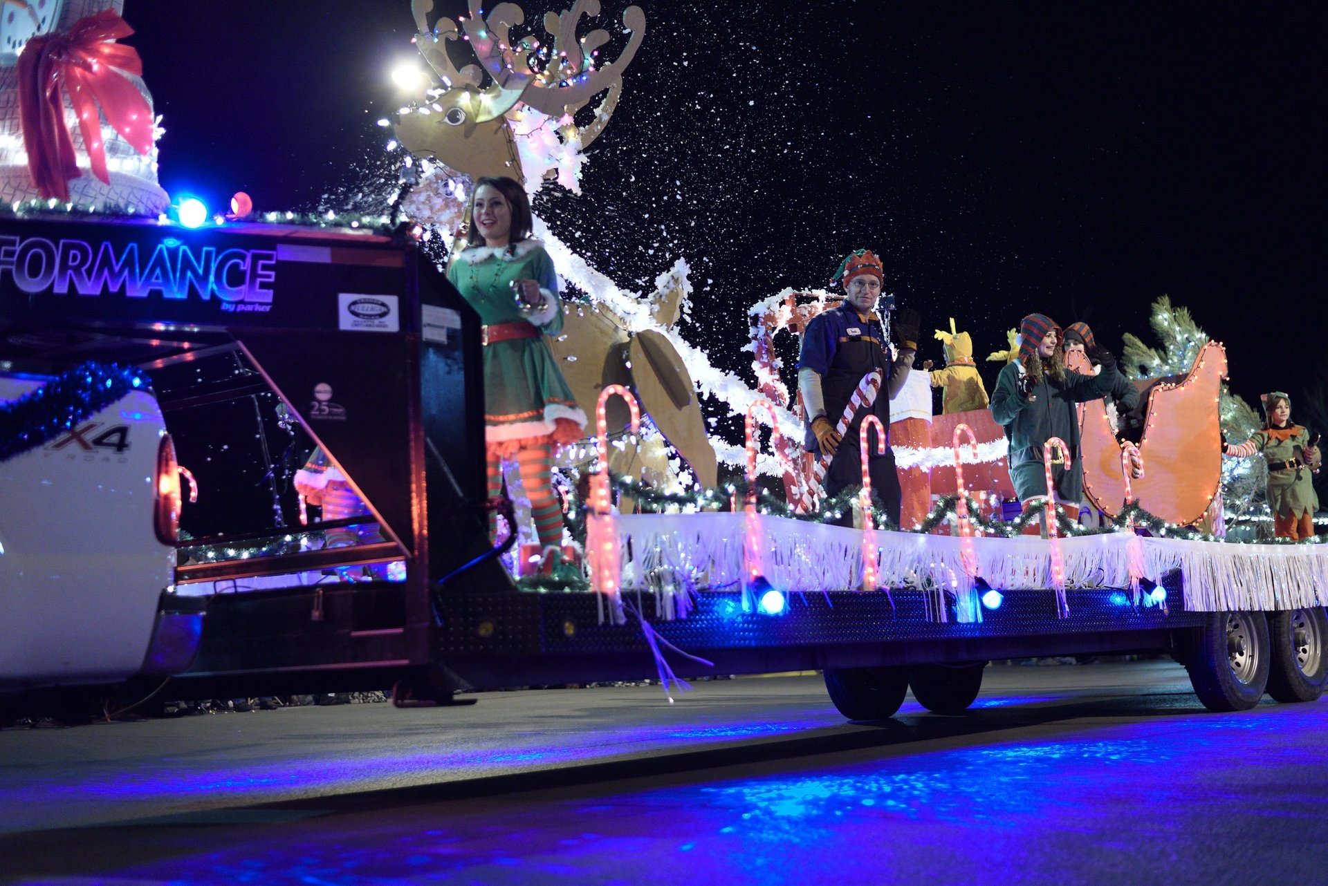 Rapid City Festival of Lights Parade in 2017 2020