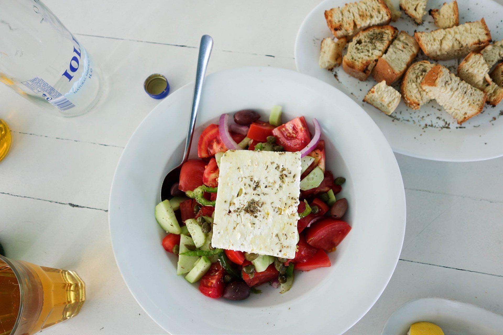 Horiatiki Salata in Athens - Best Season 2020
