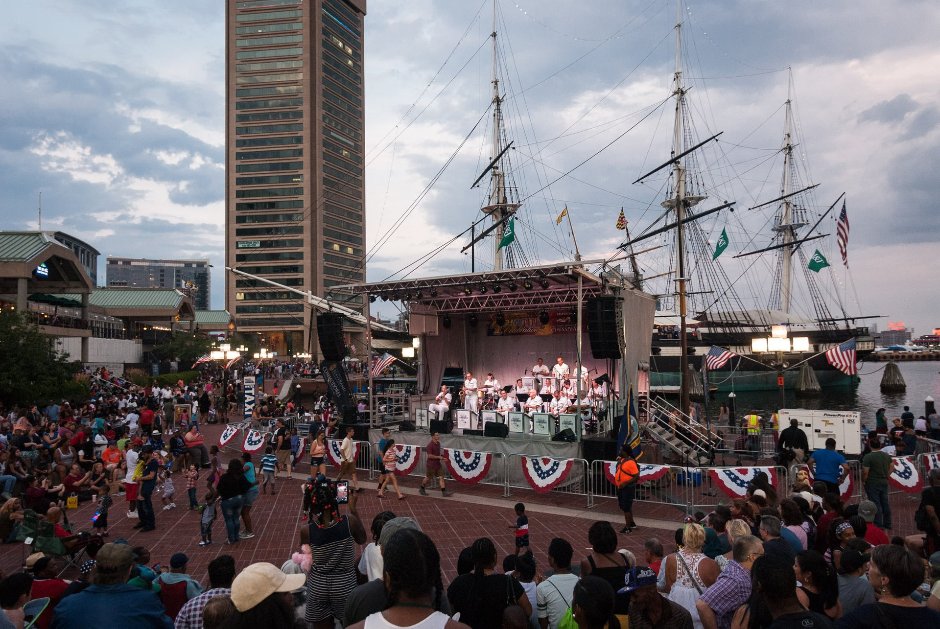 Independence Day festivities in Baltimore 2020