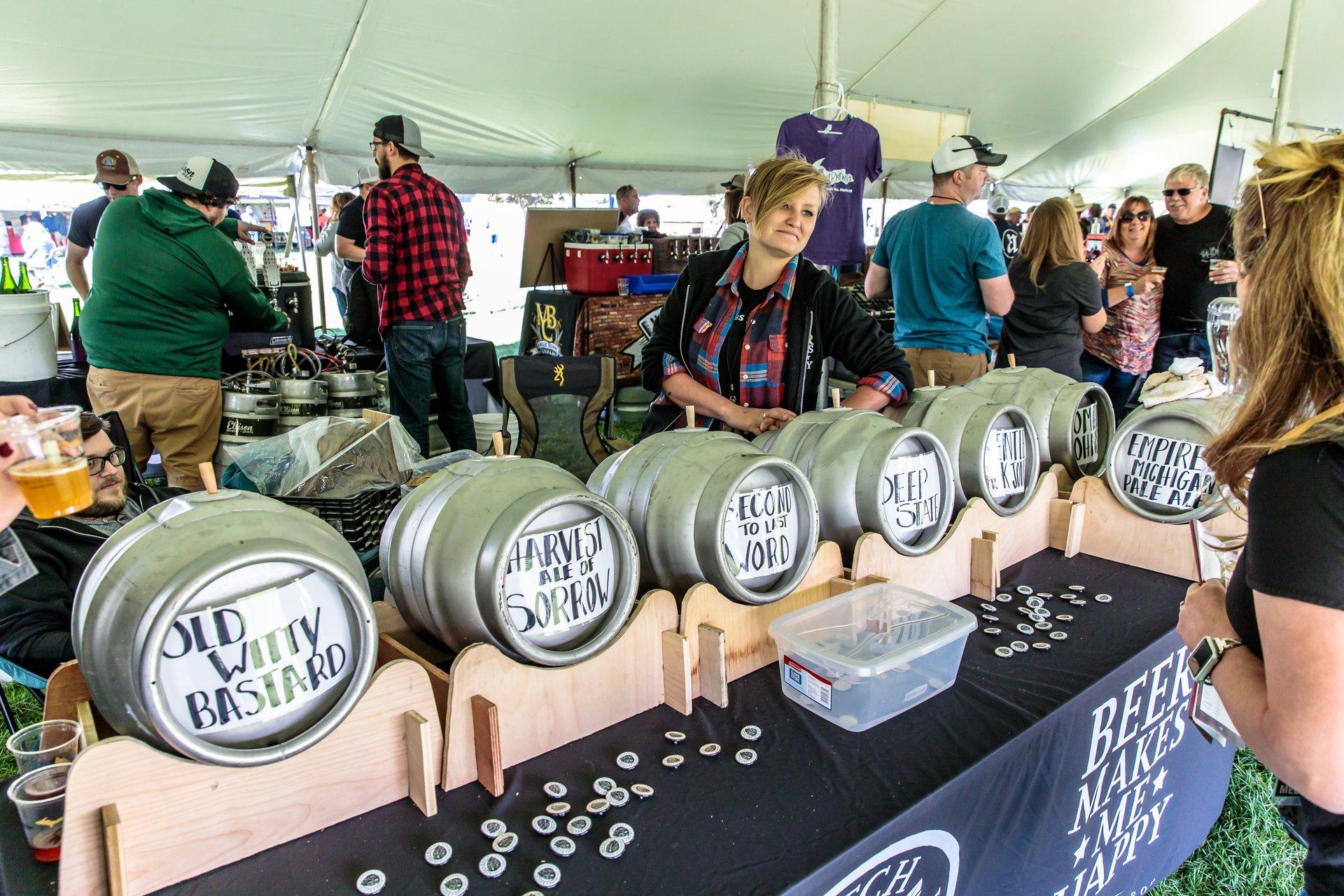 U.P. Fall Beer Festival in Marquette, MI in Midwest - Best Season 2020