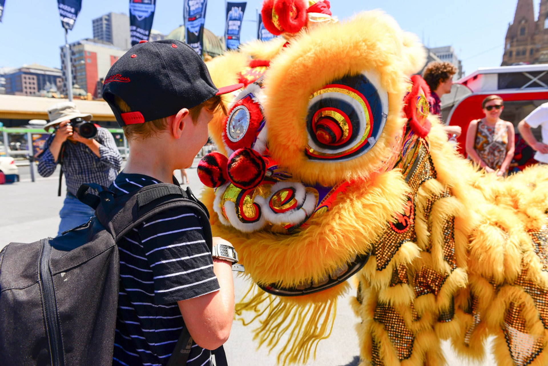 Best time to see Chinese New Year in Australia