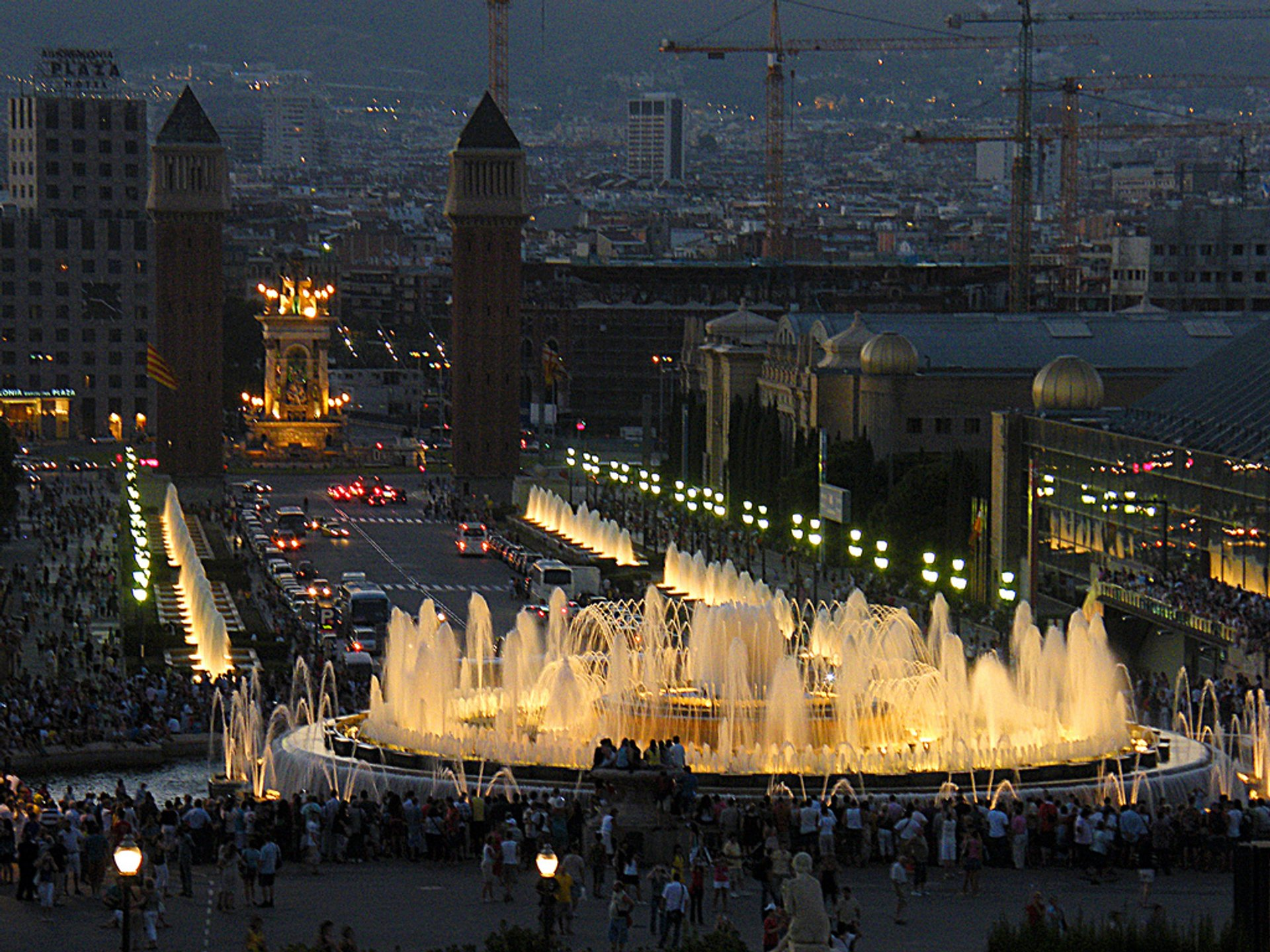 Best time for The Magic Fountain of Montjuïc in Barcelona 2020