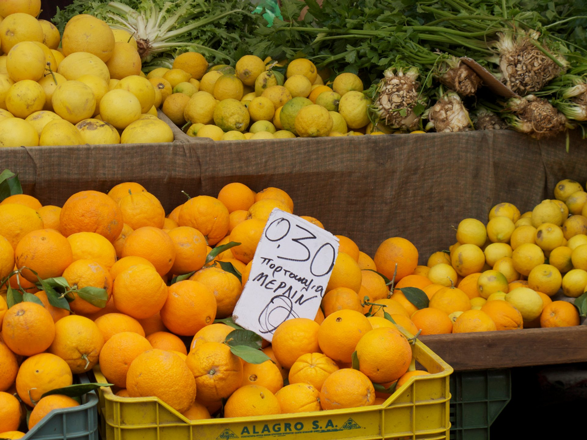 Best time for Lemon and Orange Season in Crete 2020