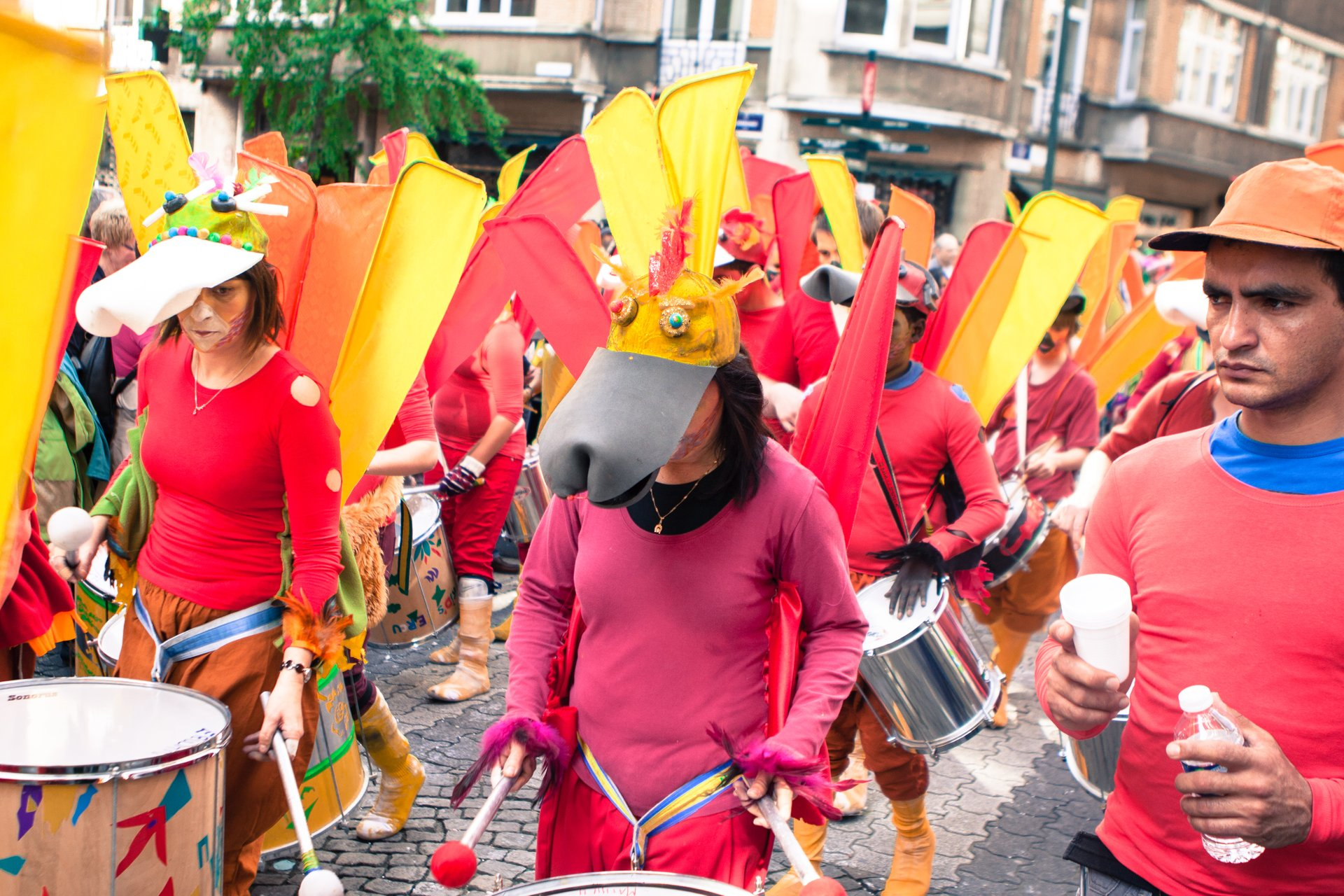 Best time to see Zinneke Parade in Brussels 2020