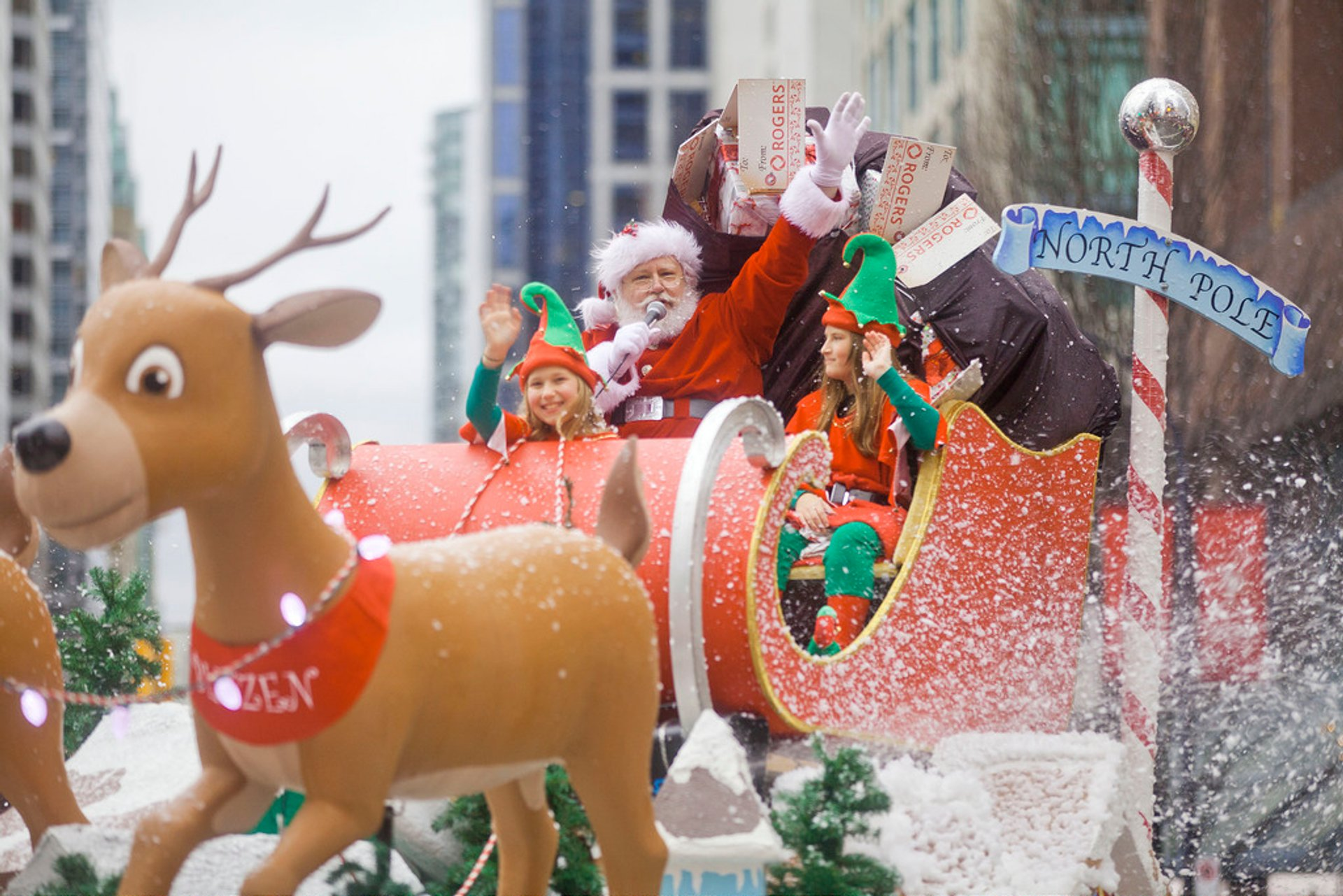 Vancouver Santa Claus Parade in Vancouver 2019 - Best Time
