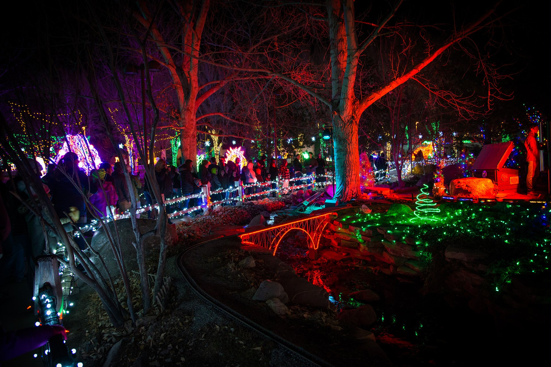 Best time for River of Lights in Albuquerque 2020