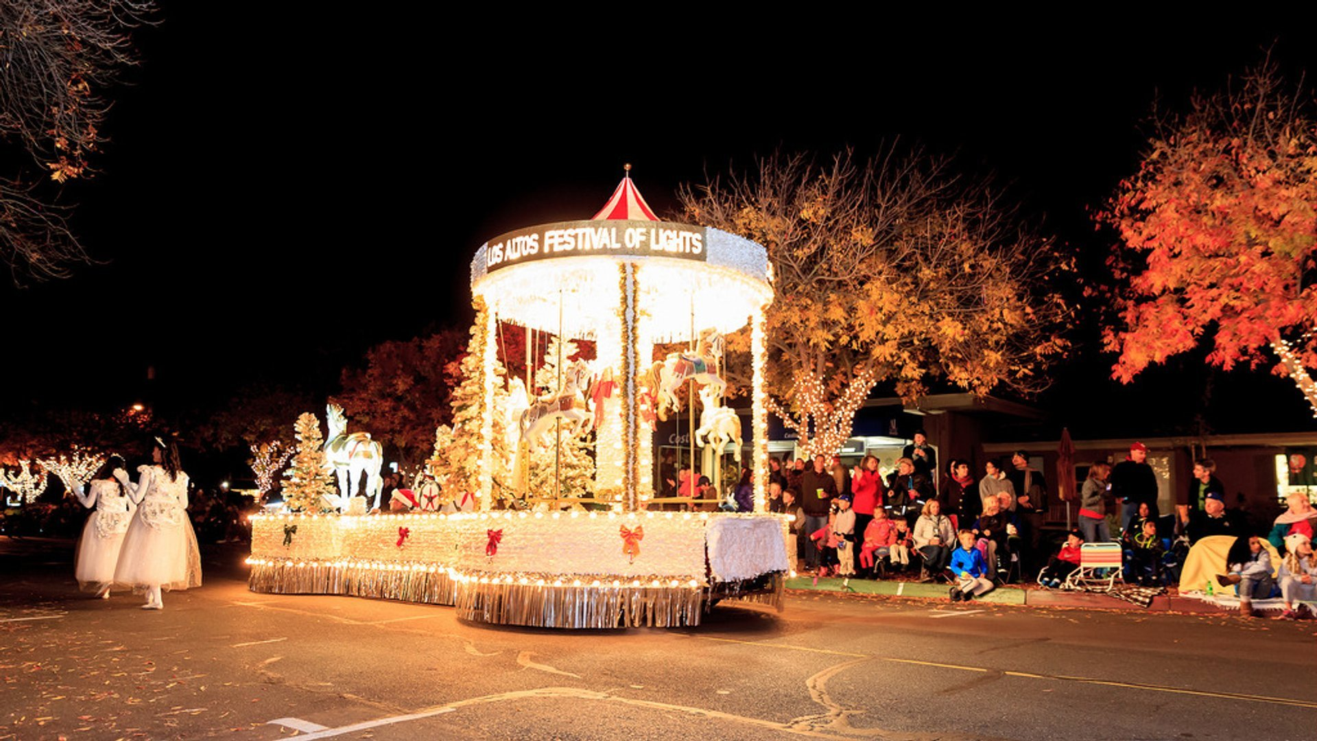 Best time to see Los Altos Festival of Lights Parade 2020