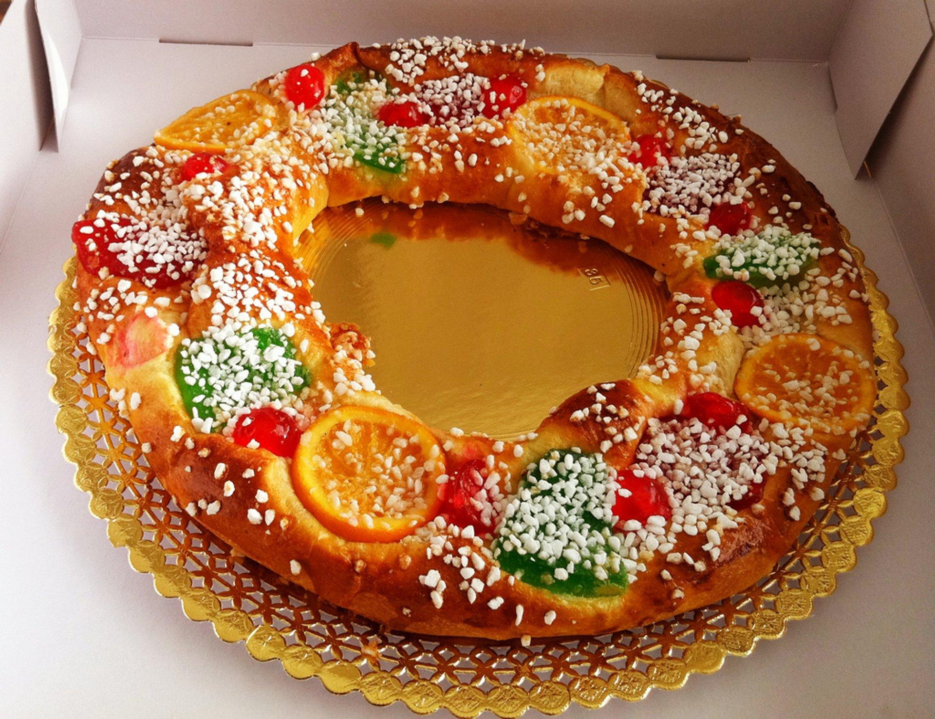 Roscón de Reyes 2020