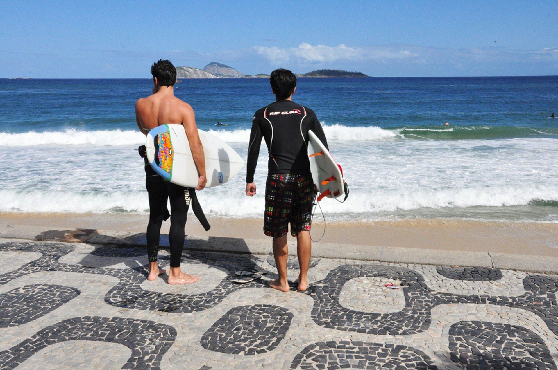 Surfing in Rio de Janeiro - Best Season 2020