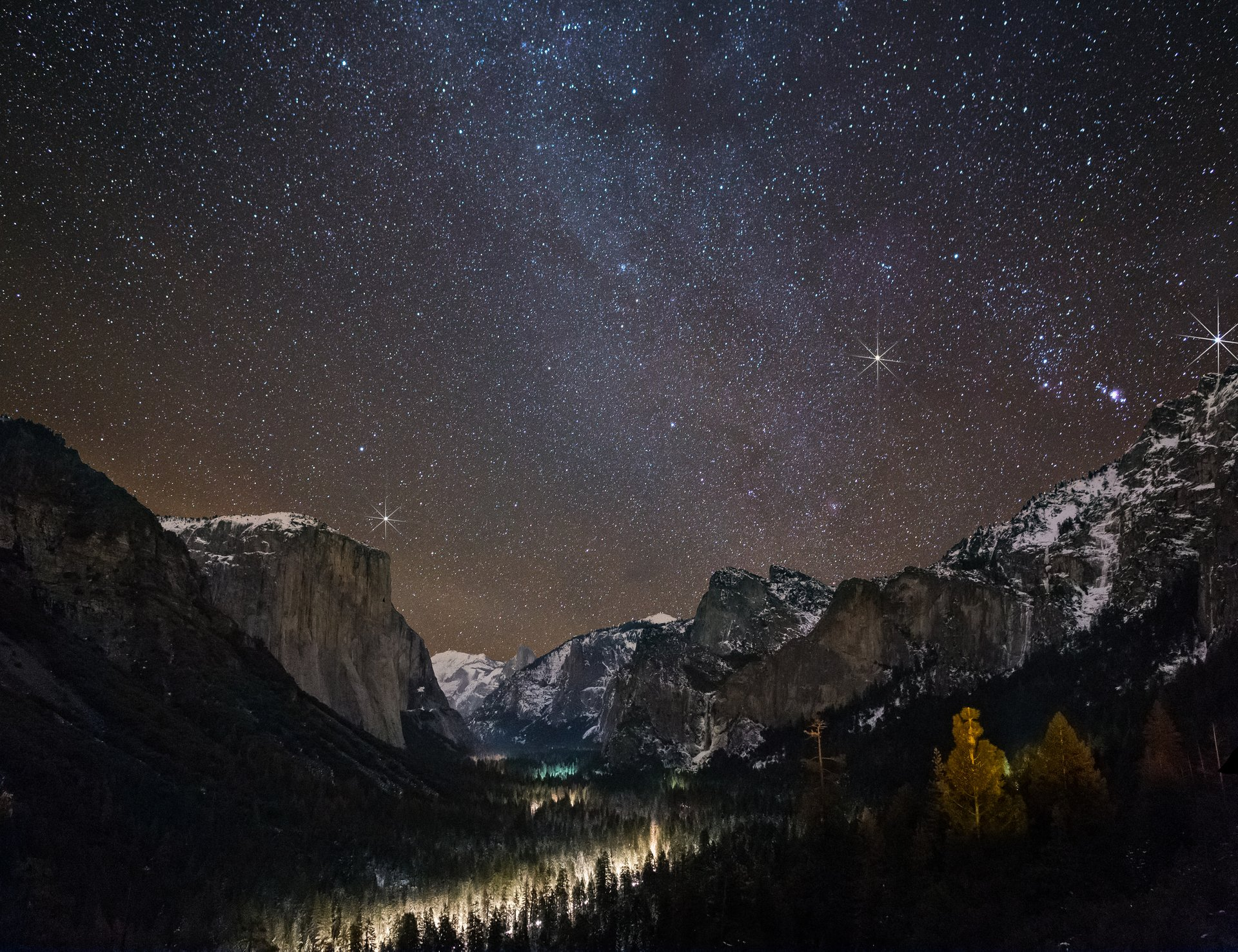 Stargazing in Yosemite - Best Season