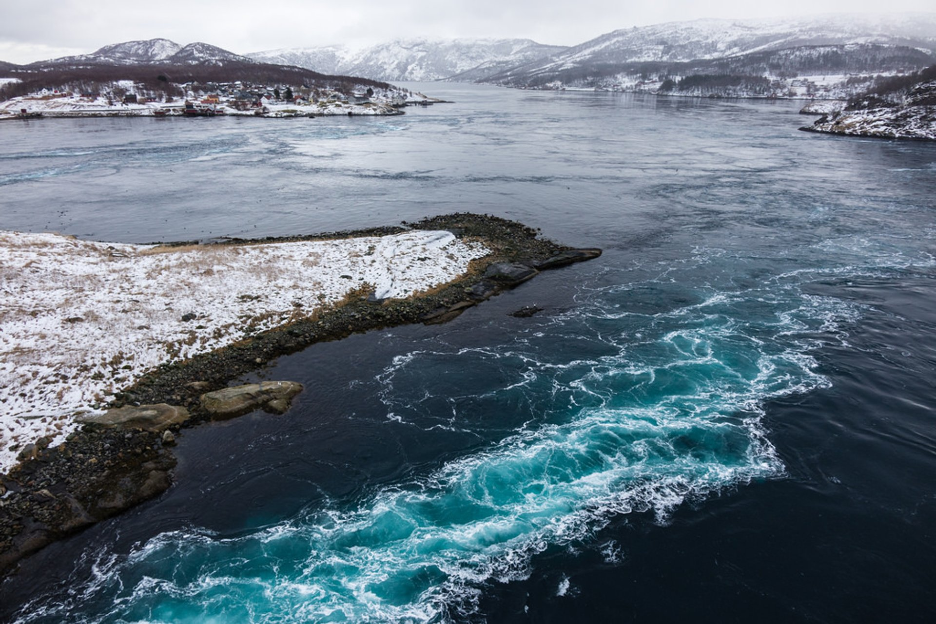 Saltstraumen Maelstrom in Norway - Best Season 2020