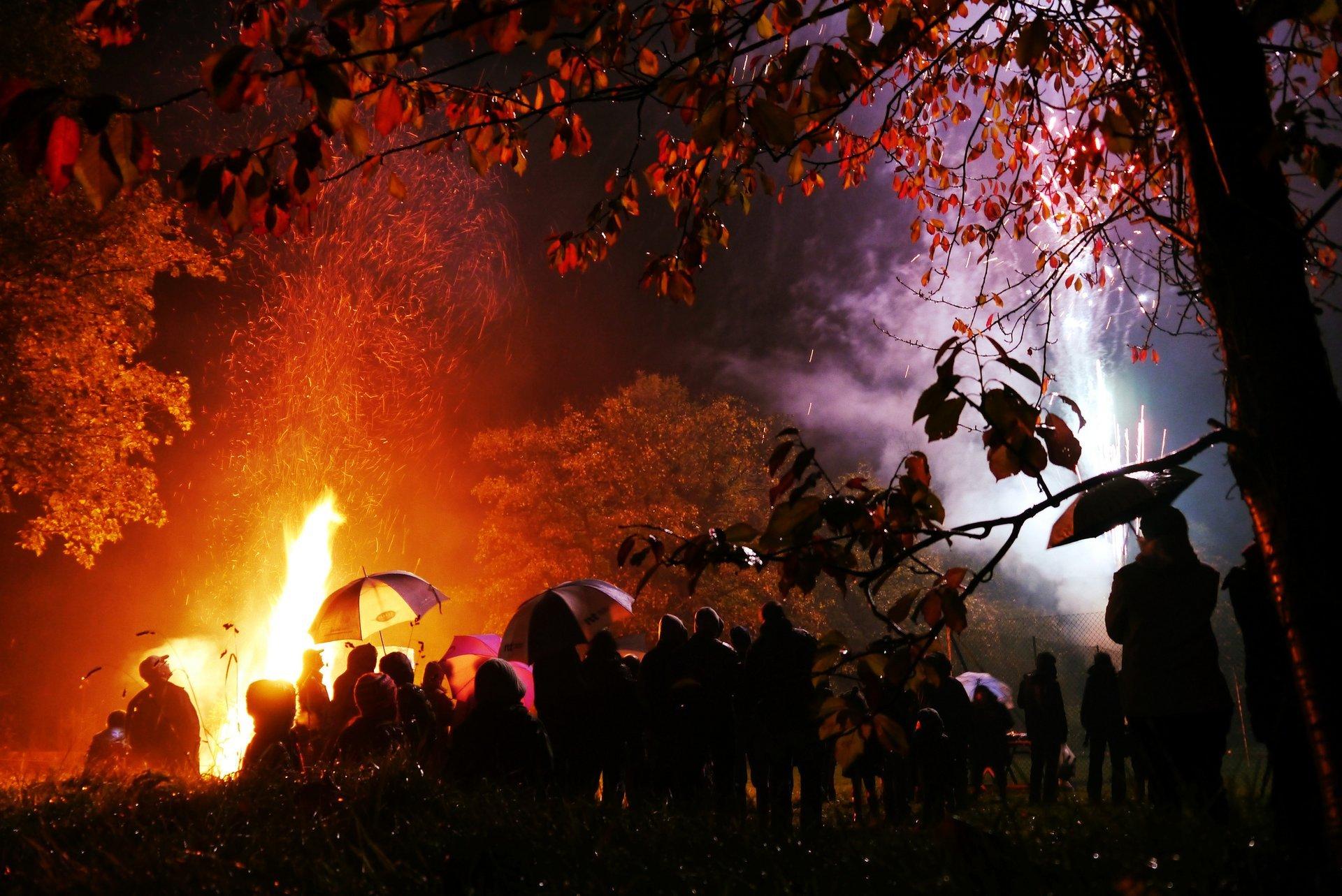 Bonfire Night in London - Best Time