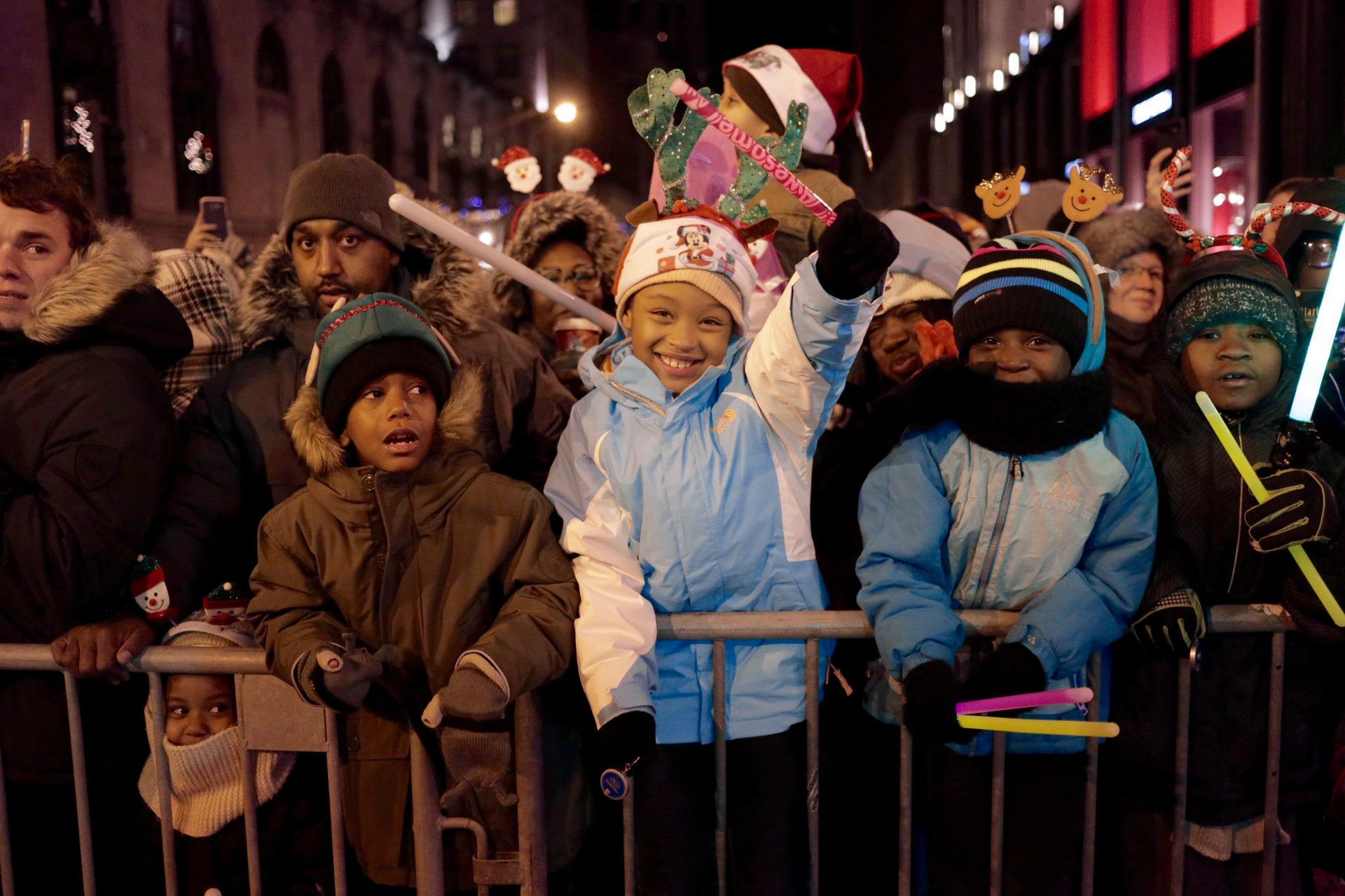 Best time for BMO Harris Magnificent Mile Lights Festival 2020