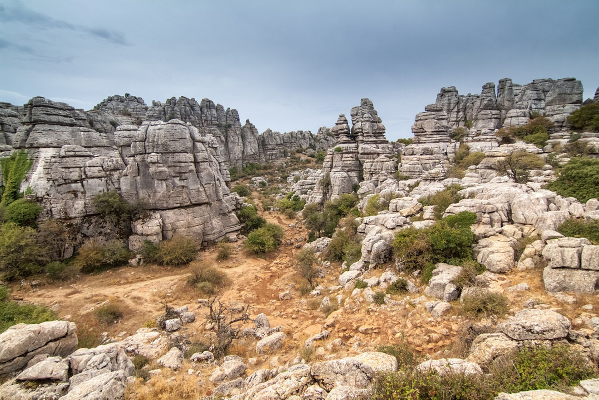 Best time for El Torcal de Antequera National Park 2020