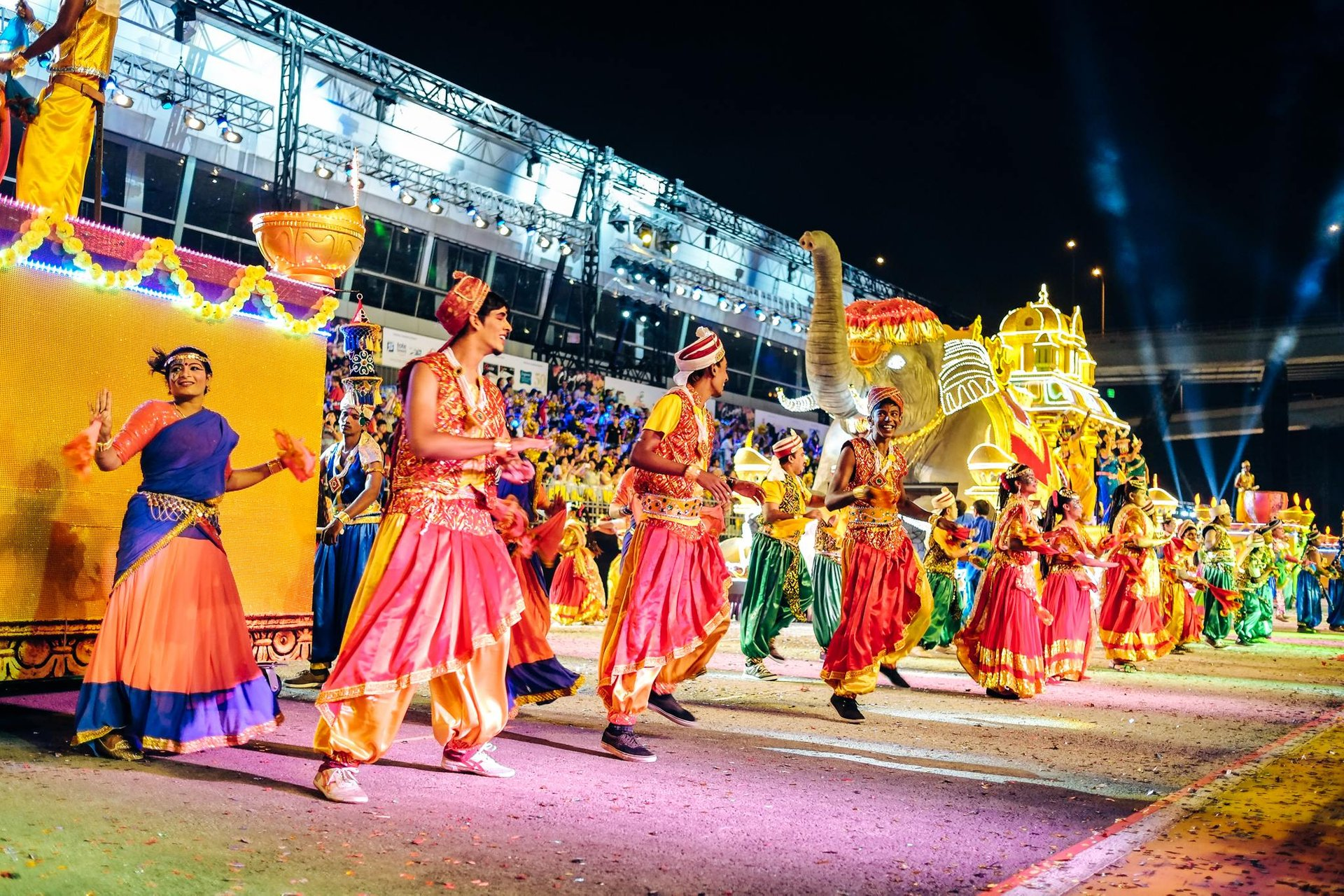 Best time for Chingay Parade in Singapore 2020