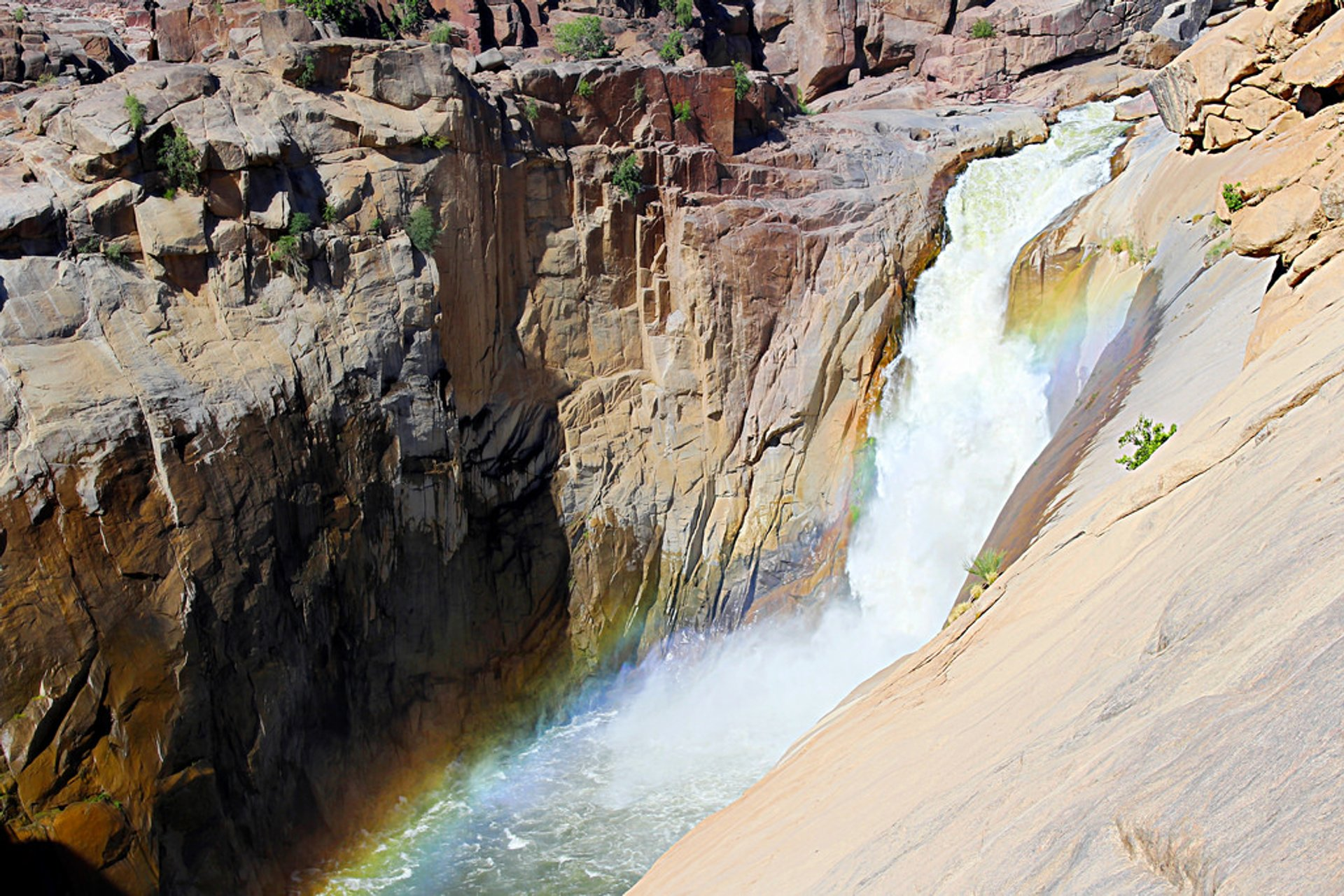 Augrabies Falls National Park in South Africa - Best Time