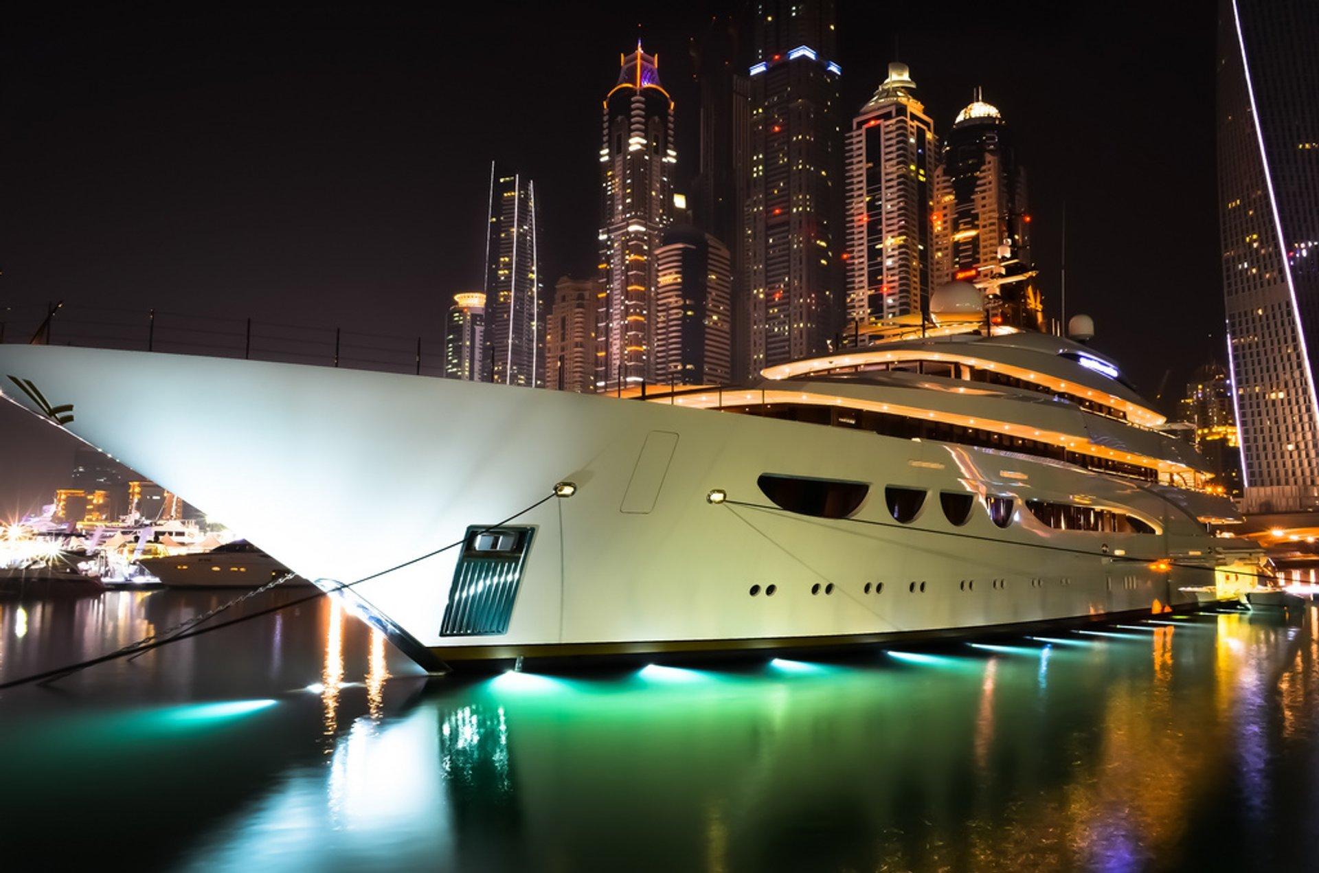 Dubai International Boat Show in Dubai 2019 - Best Time