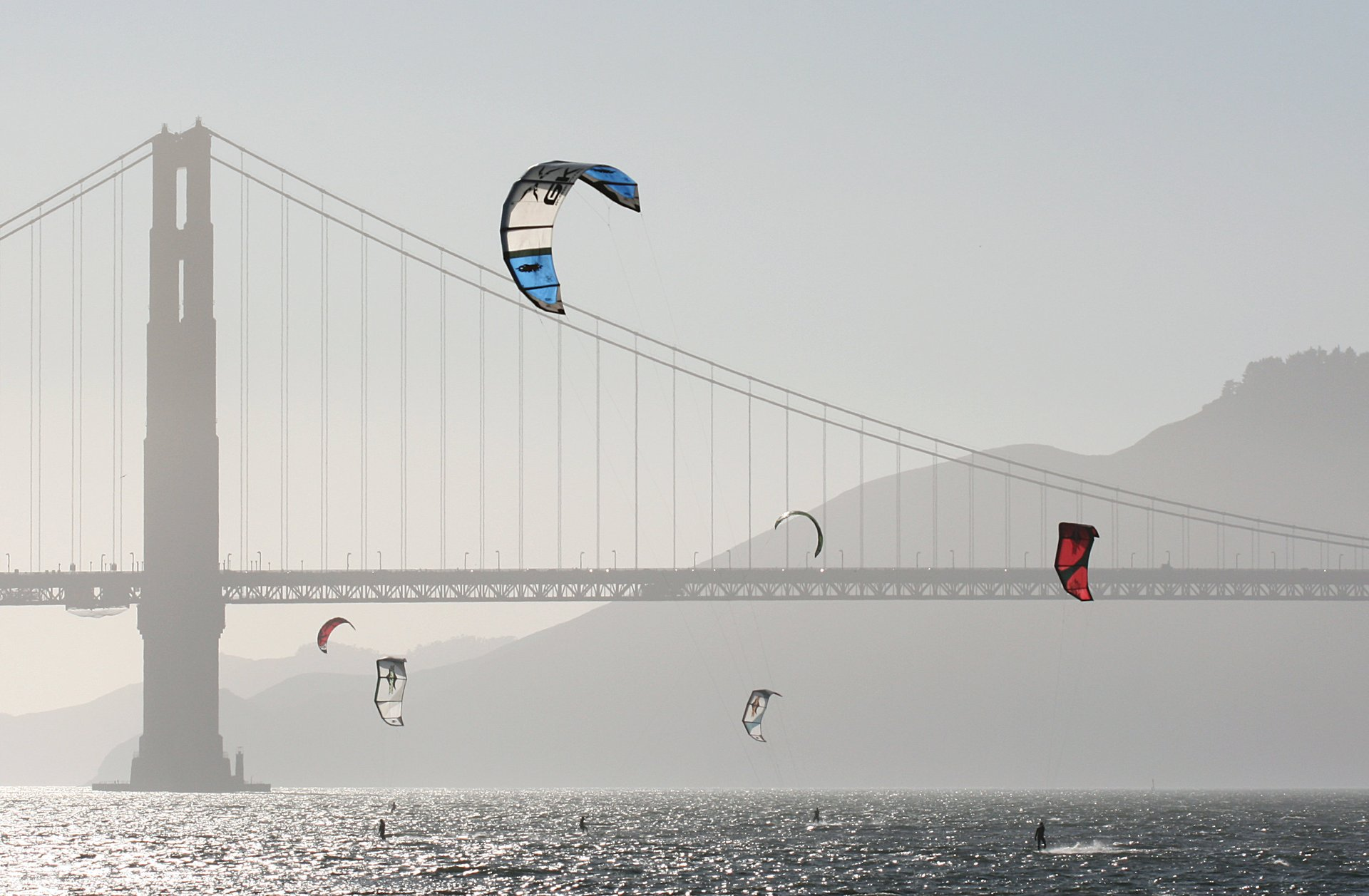 Kitesurfing and Windsurfing in San Francisco 2020 - Best Time