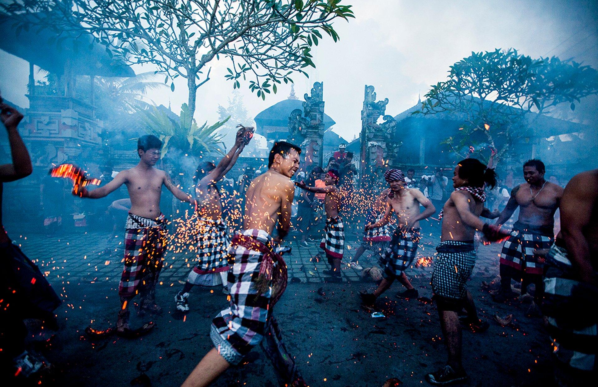 Perang Api in Bali - Best Season
